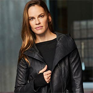 A day in the life of Hilary Swank.