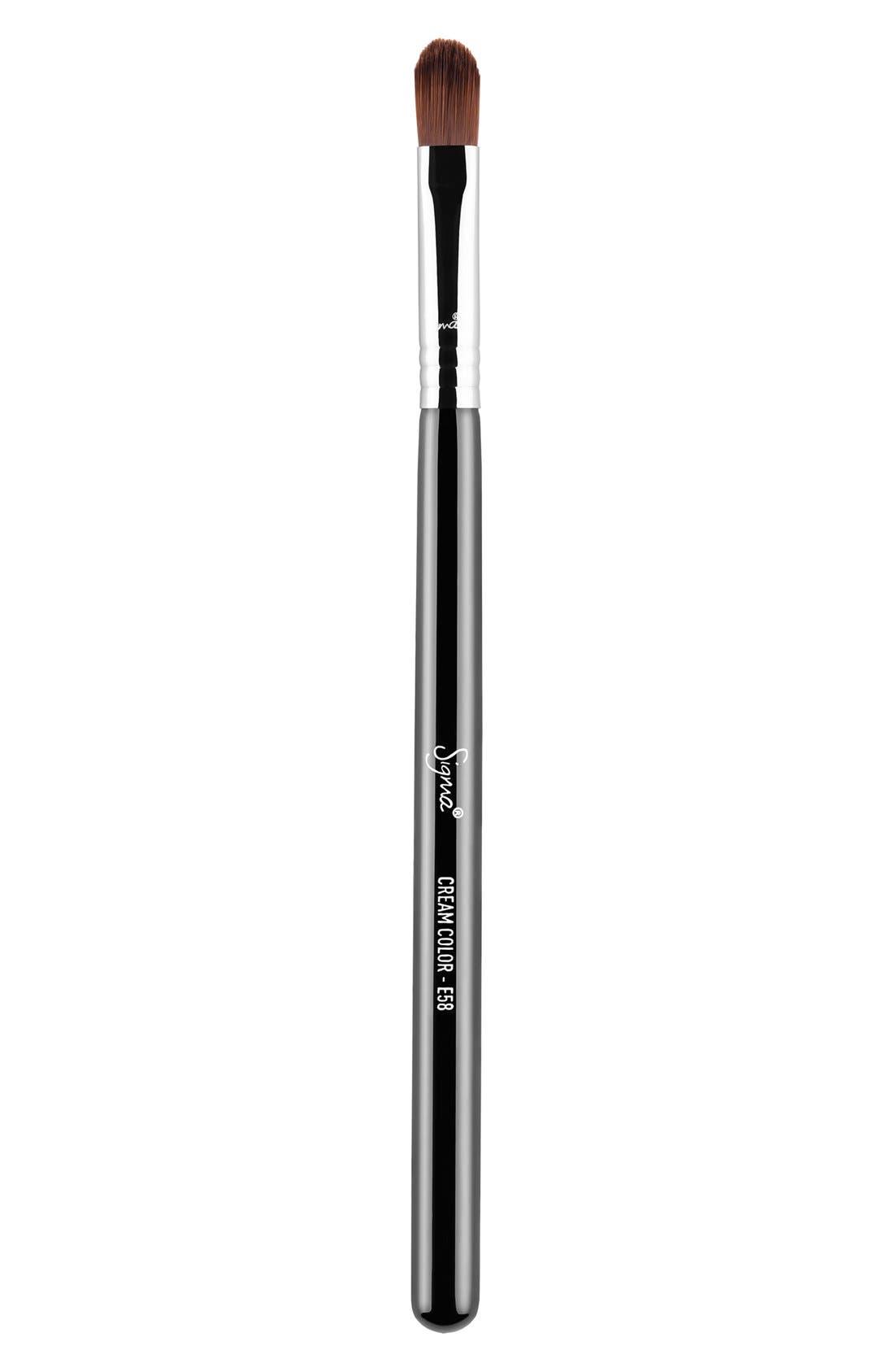 E58 Cream Color Brush,                         Main,                         color, NO COLOR