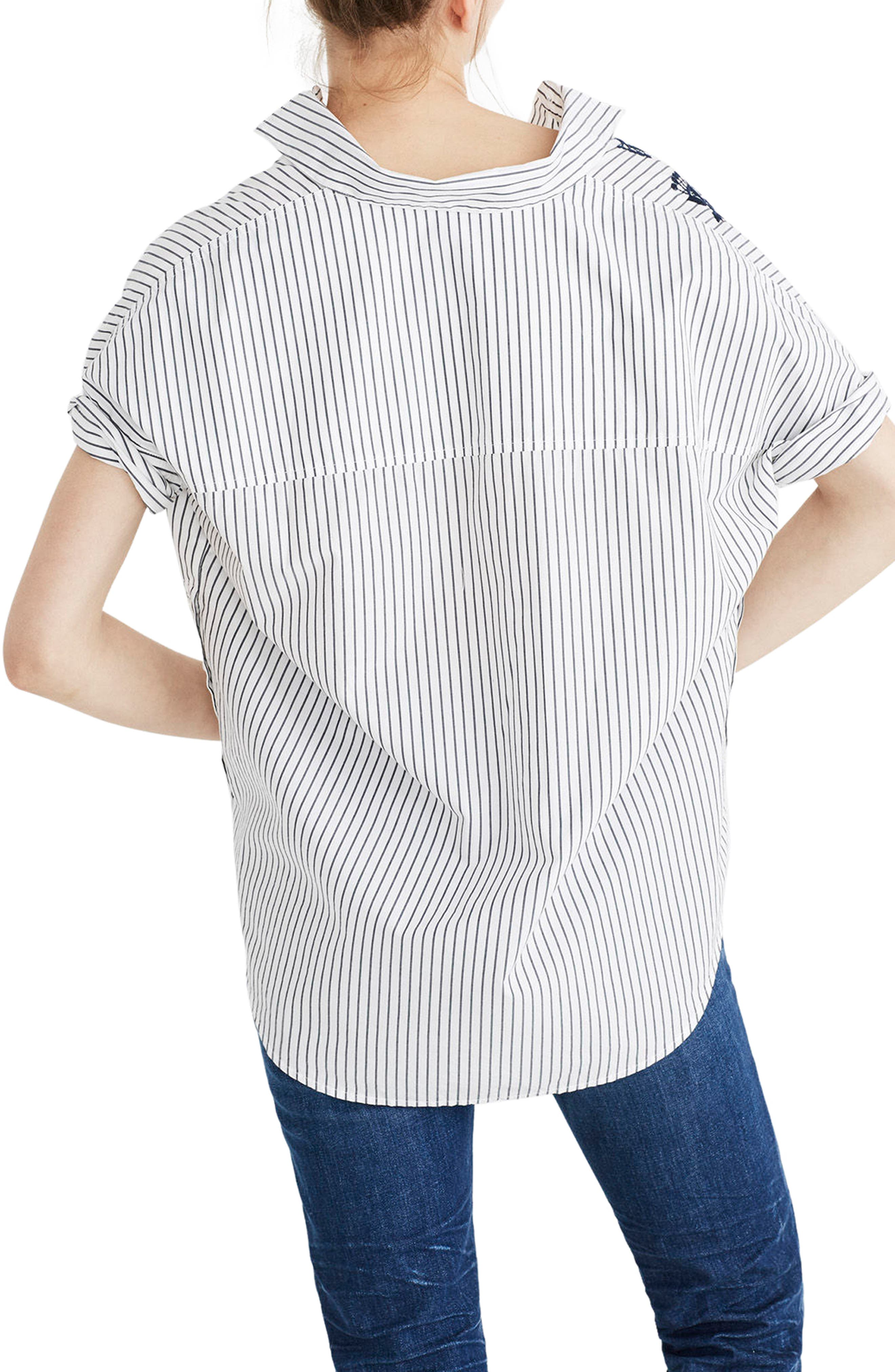 Embroidered Courier Shirt,                             Alternate thumbnail 2, color,                             020