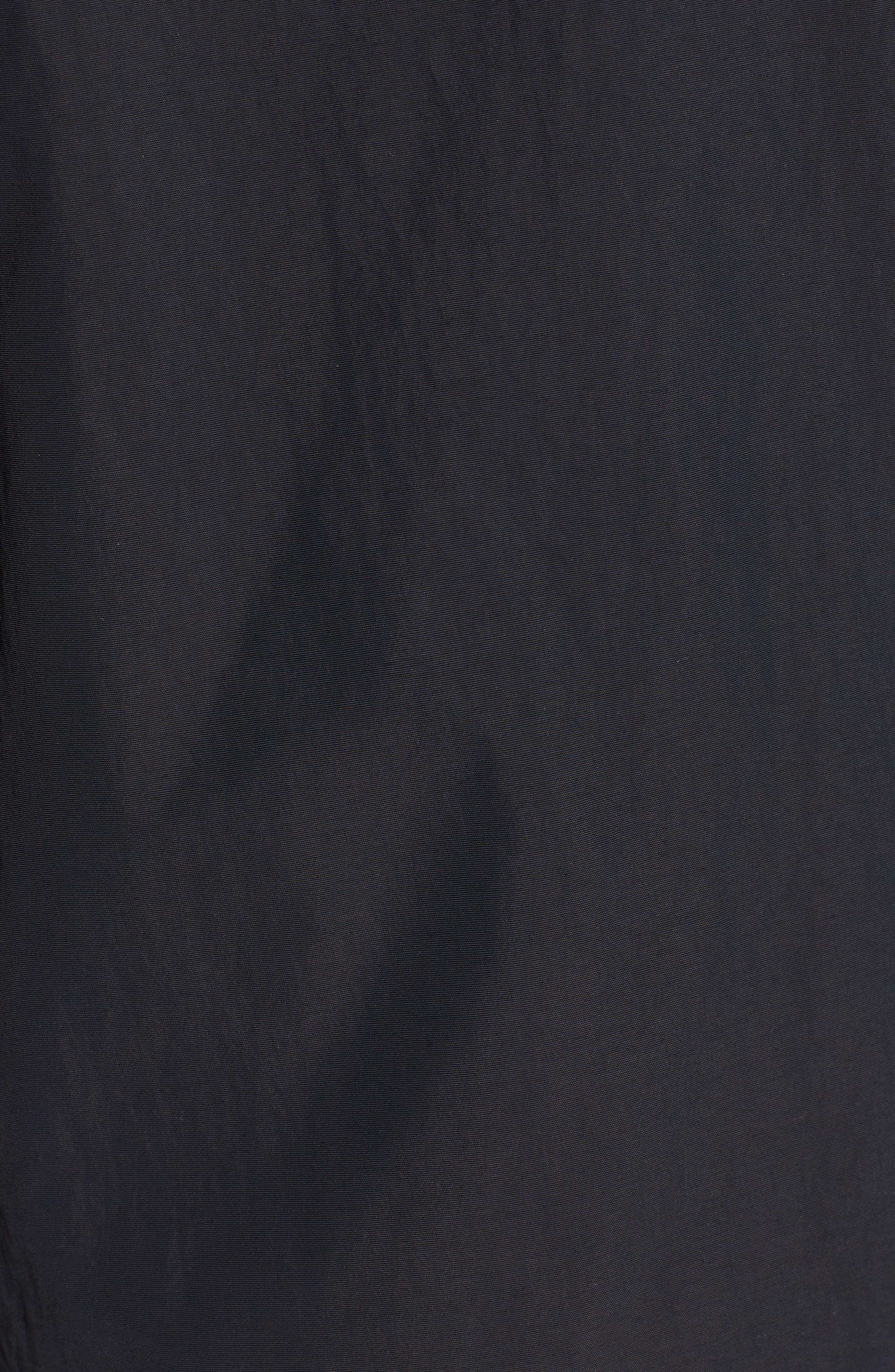 Dexy Jacket with Faux Fur Trim,                             Alternate thumbnail 7, color,                             BLACK