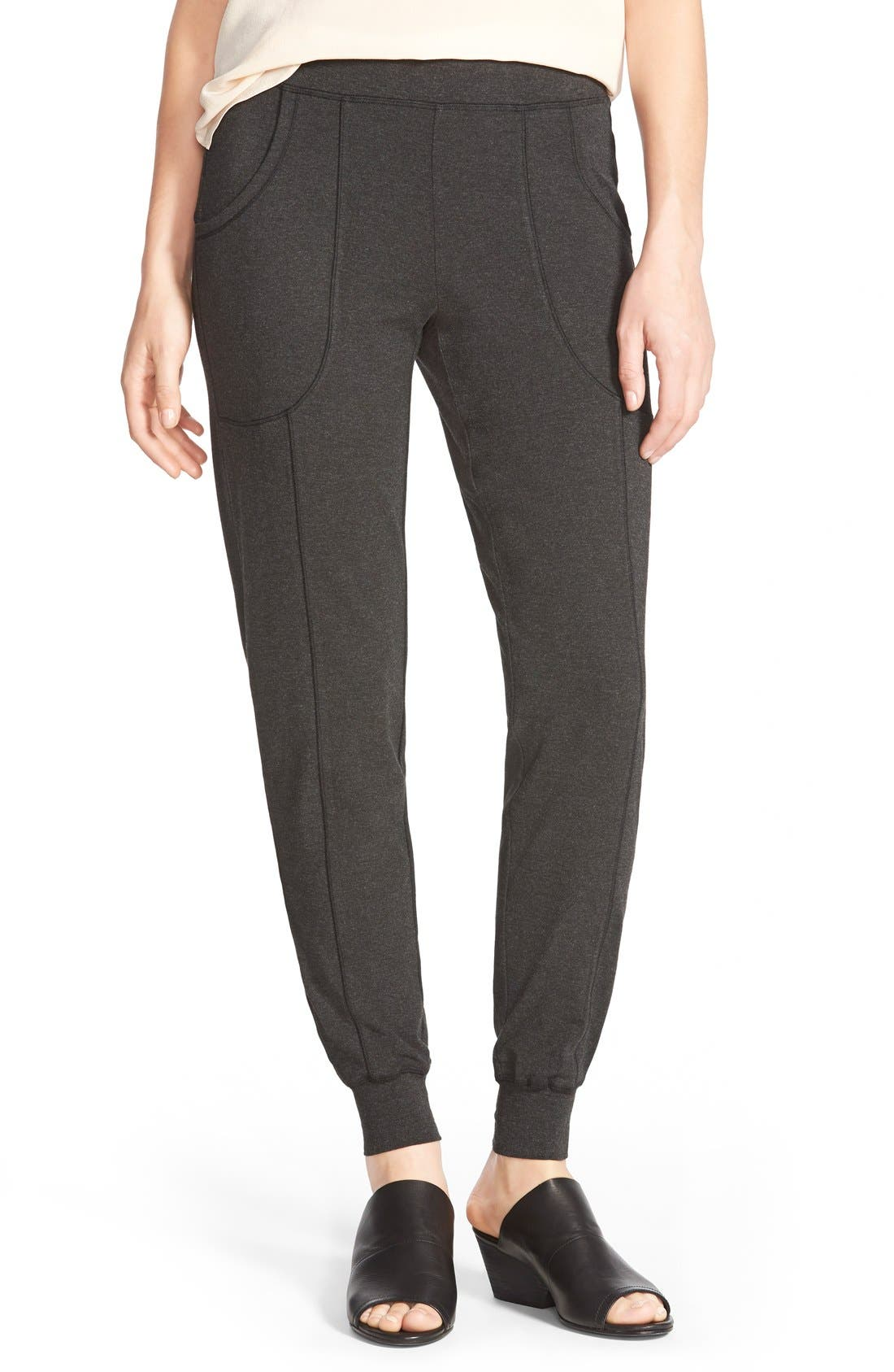 Slouchy Jersey Jogger Pants, Main, color, 021