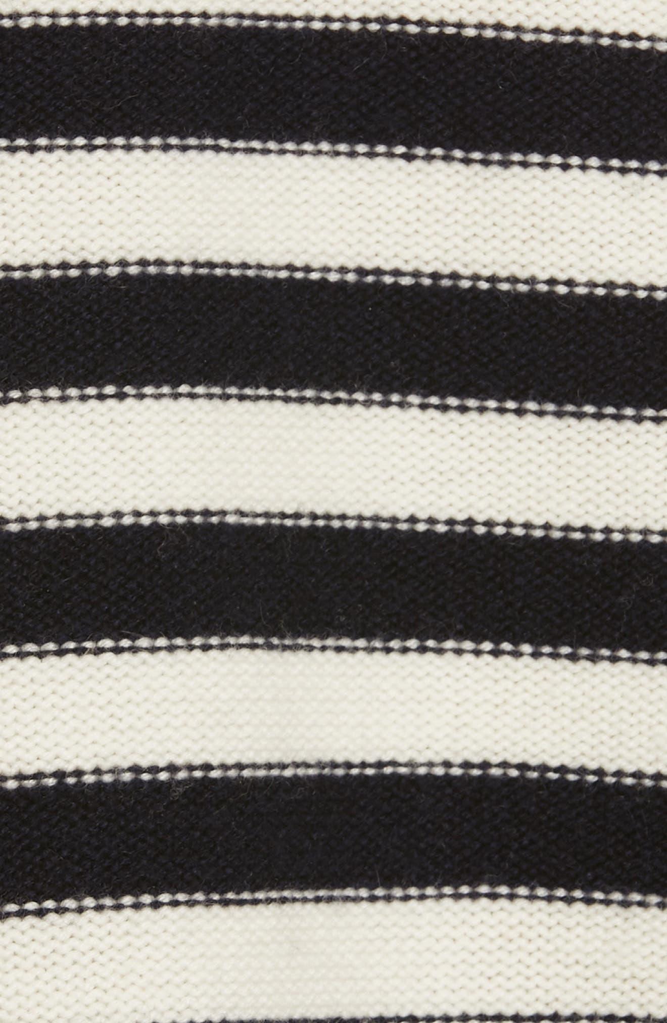 Maridel Sweater,                             Alternate thumbnail 5, color,                             PORCELAIN MIDNIGHT