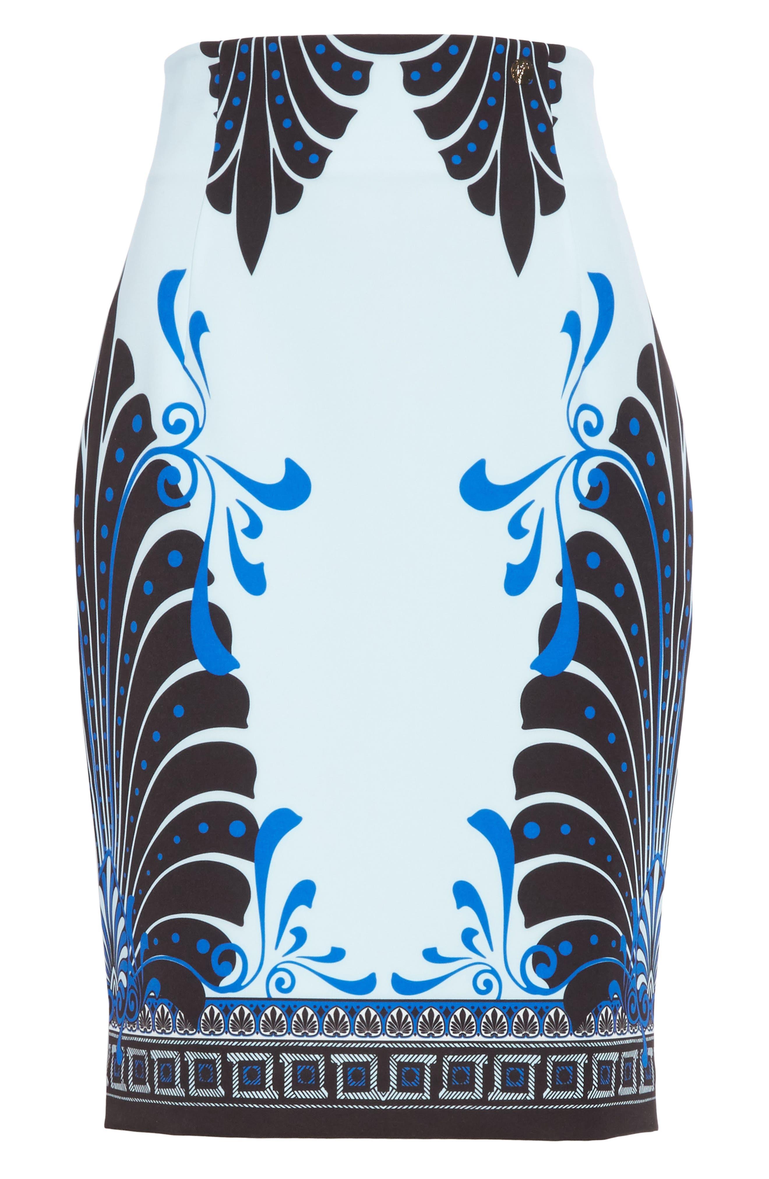 Eros Cady Pencil Skirt,                             Alternate thumbnail 6, color,                             453