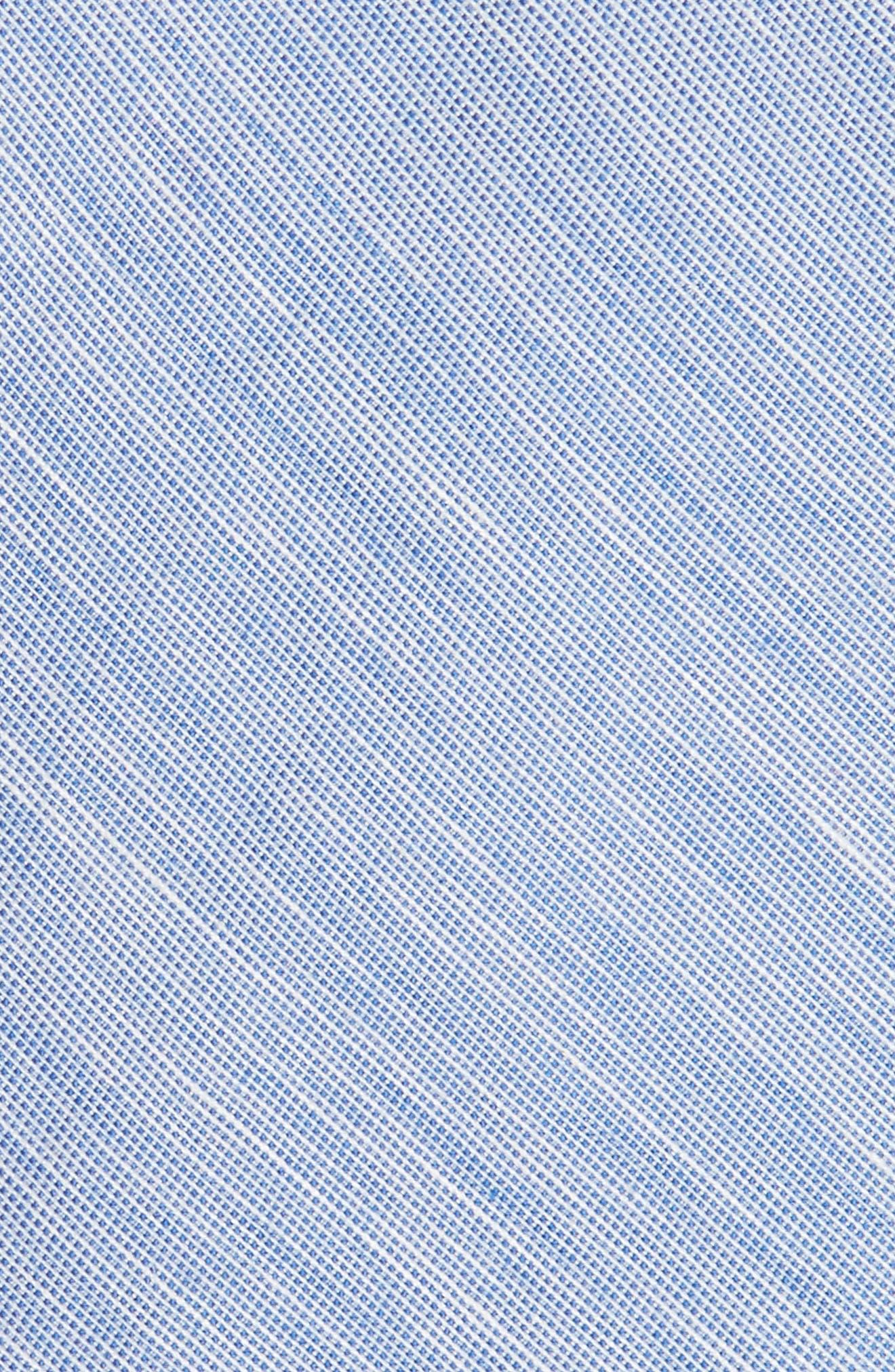 Adena Solid Silk Blend Skinny Tie,                             Alternate thumbnail 9, color,