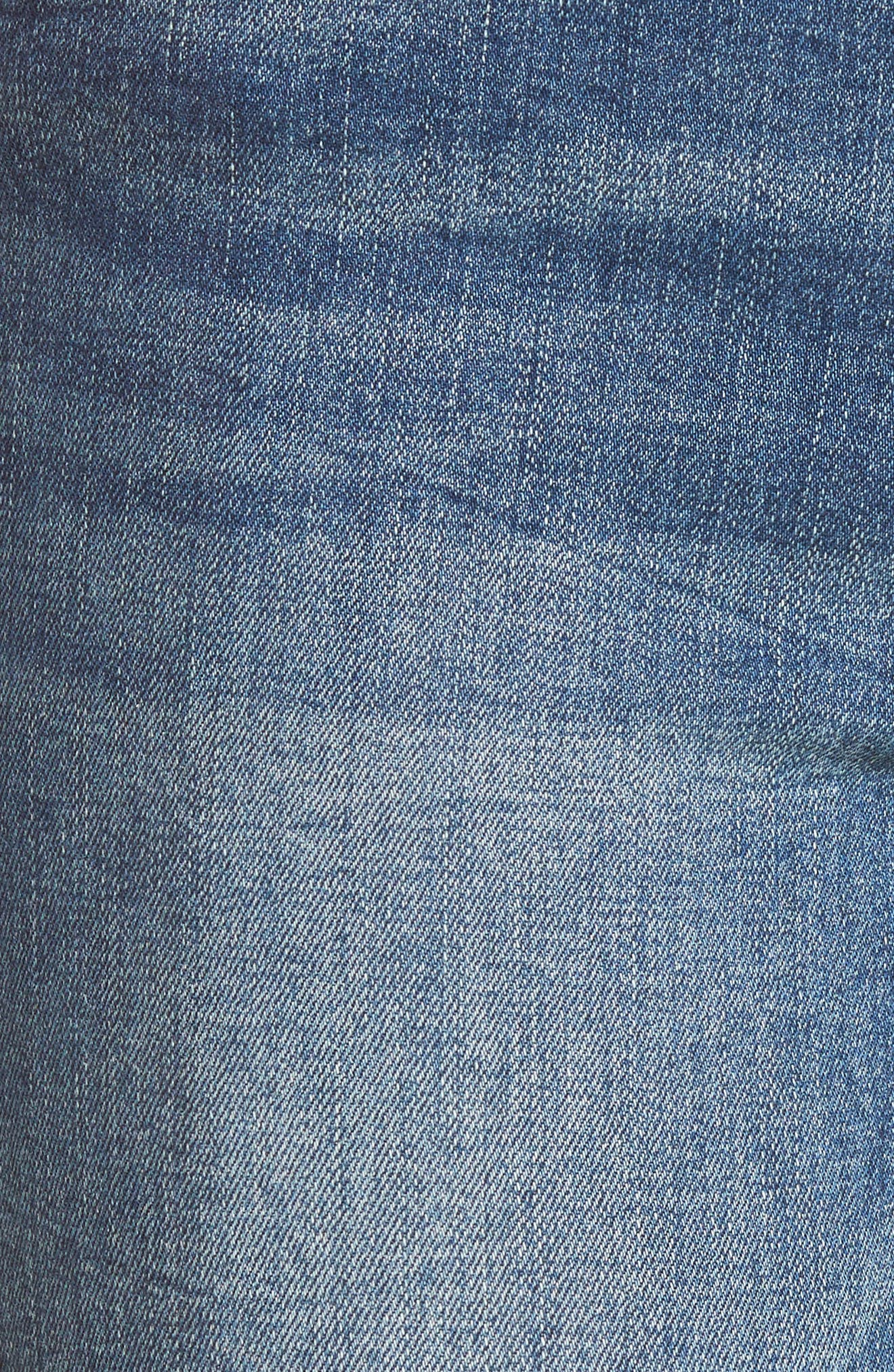 Cry Baby Raw Hem High Waist Skinny Jeans,                             Alternate thumbnail 6, color,                             400