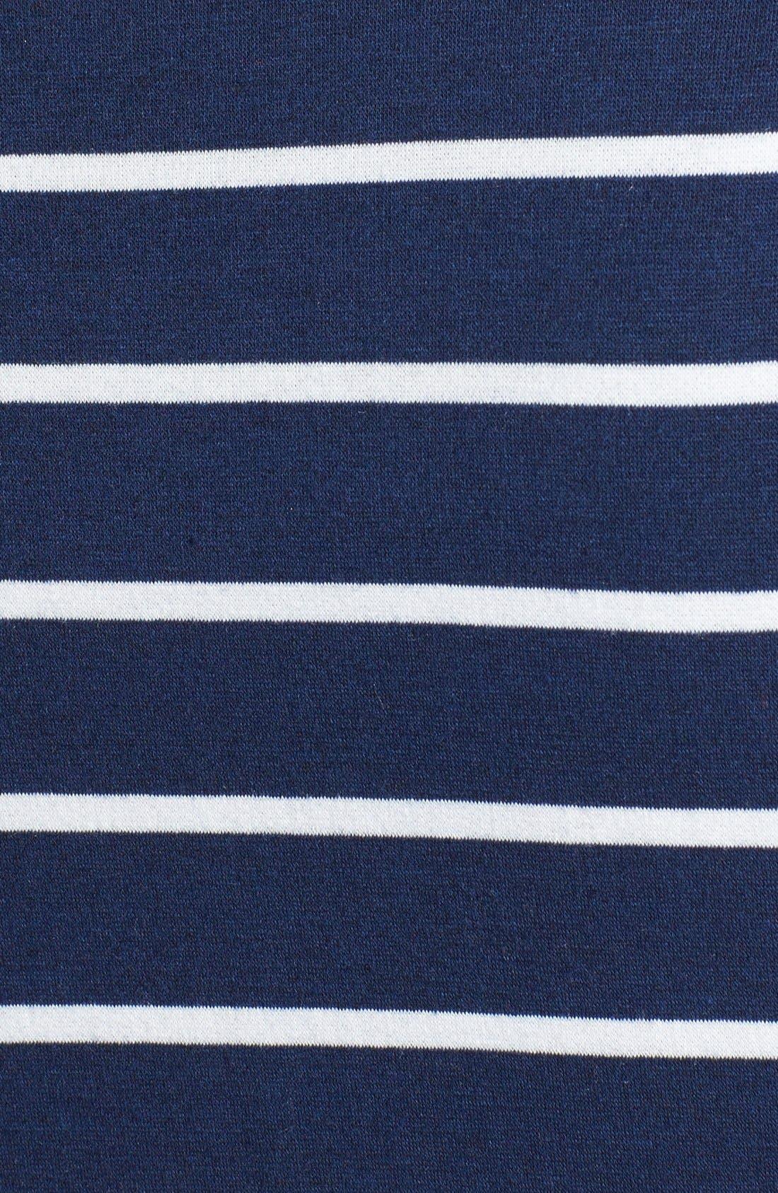 Stripe Fleece Wrap,                             Alternate thumbnail 9, color,