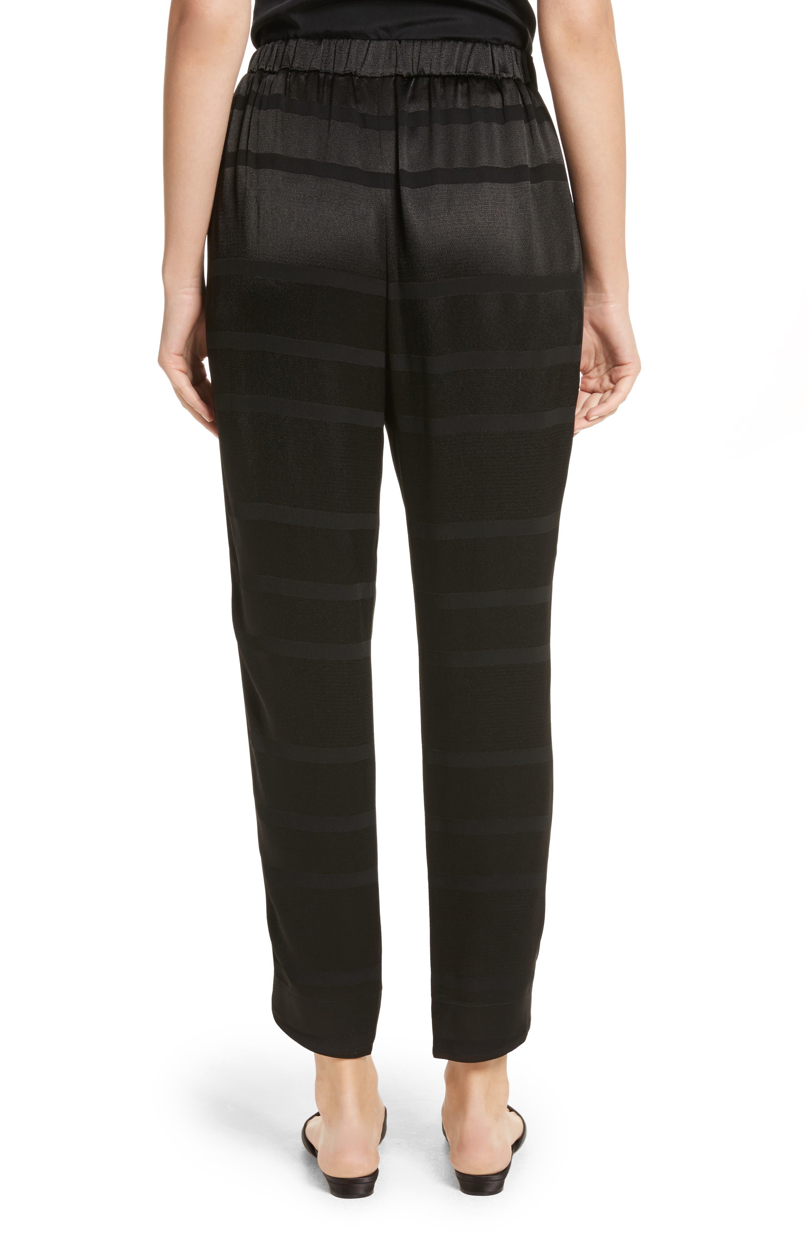 Steller Stripe Wrap Front Pants,                             Alternate thumbnail 2, color,                             001