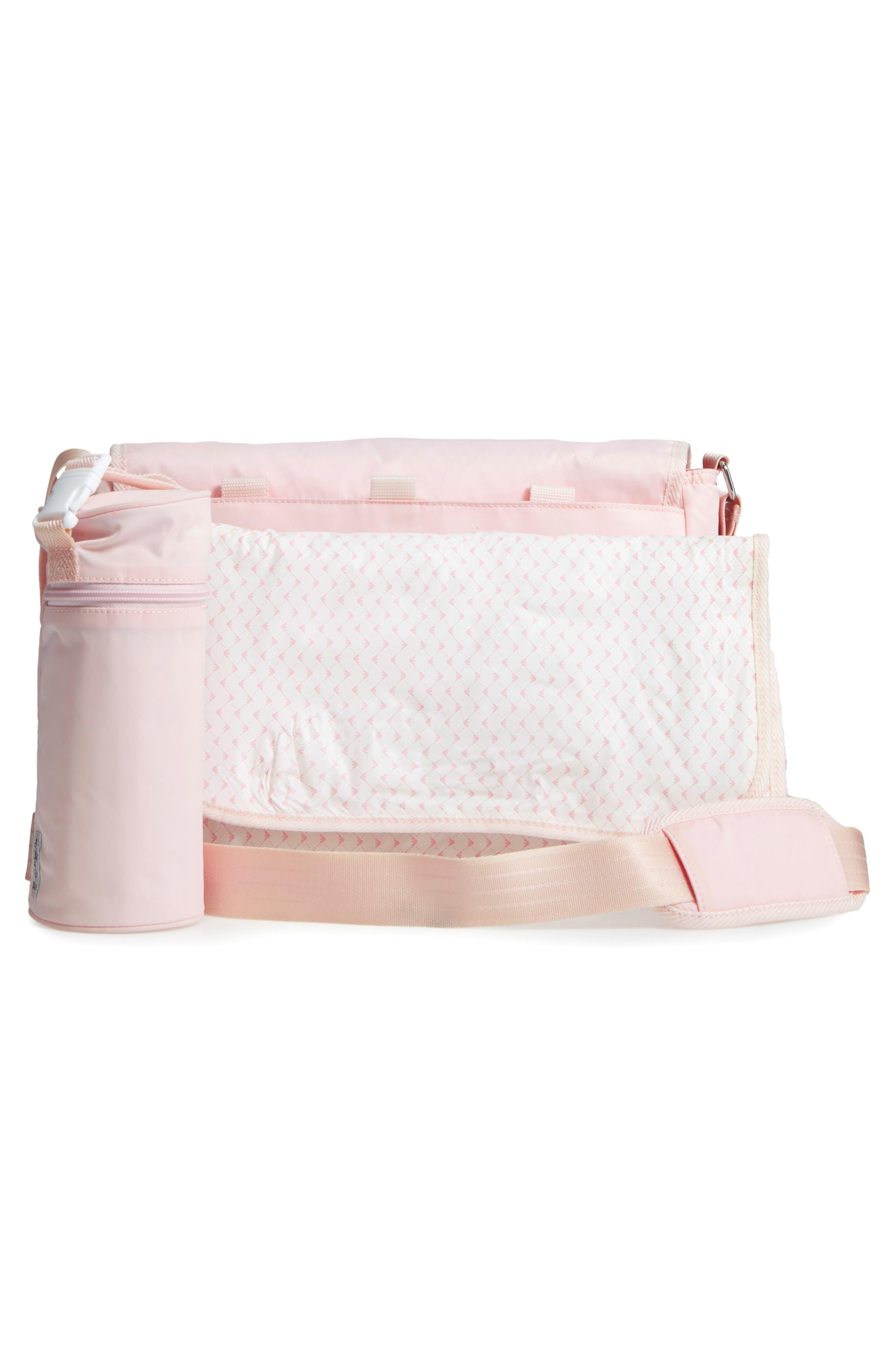 Nylon Messenger Diaper Bag,                             Alternate thumbnail 12, color,