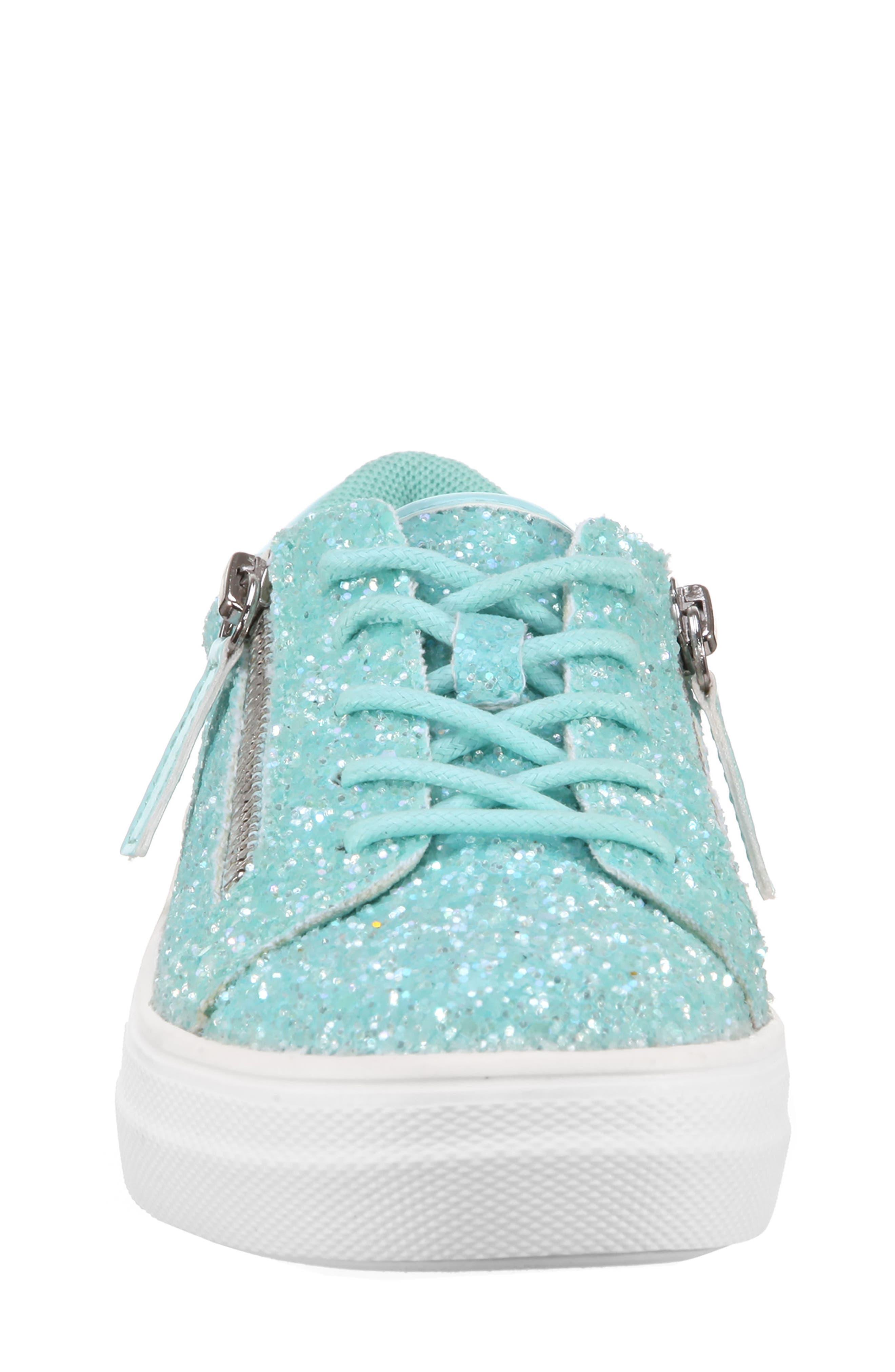 Jennalyn Glitter Sneaker,                             Alternate thumbnail 4, color,                             440