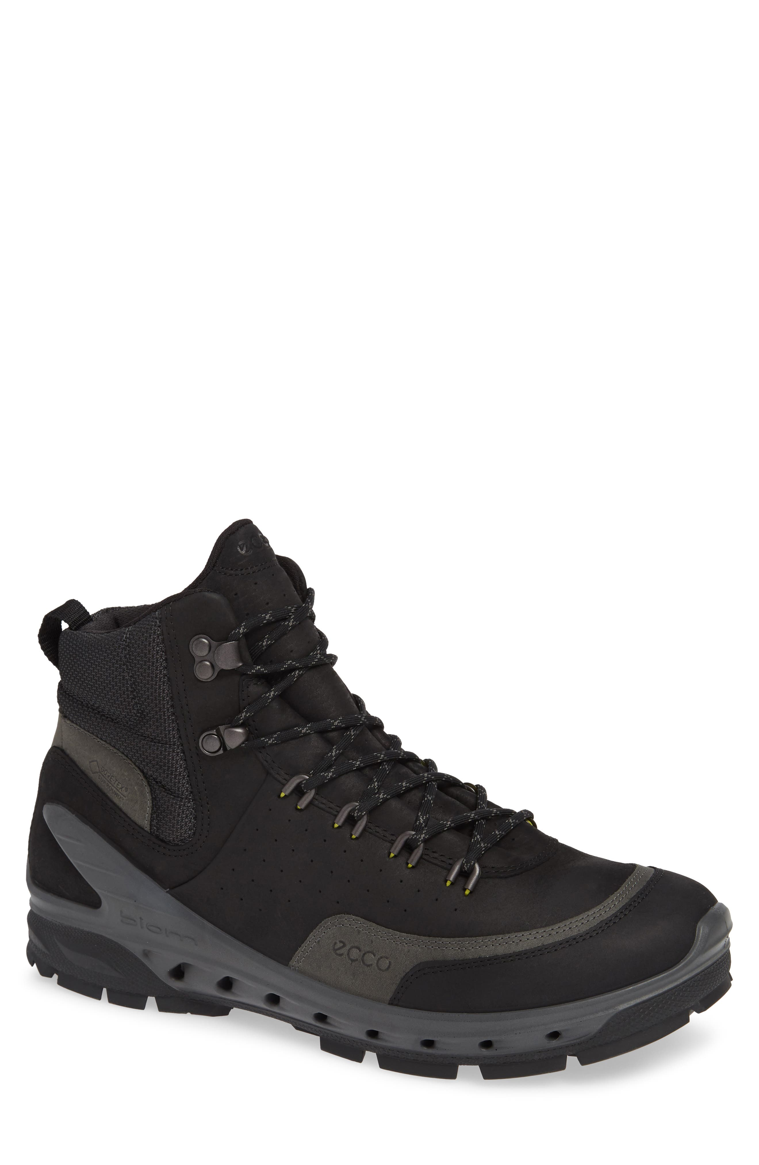 UPC 809704559278 product image for Men's Ecco Biom Venture Tr Gtx Boot, Size 6-6.5US / 40EU - Black | upcitemdb.com