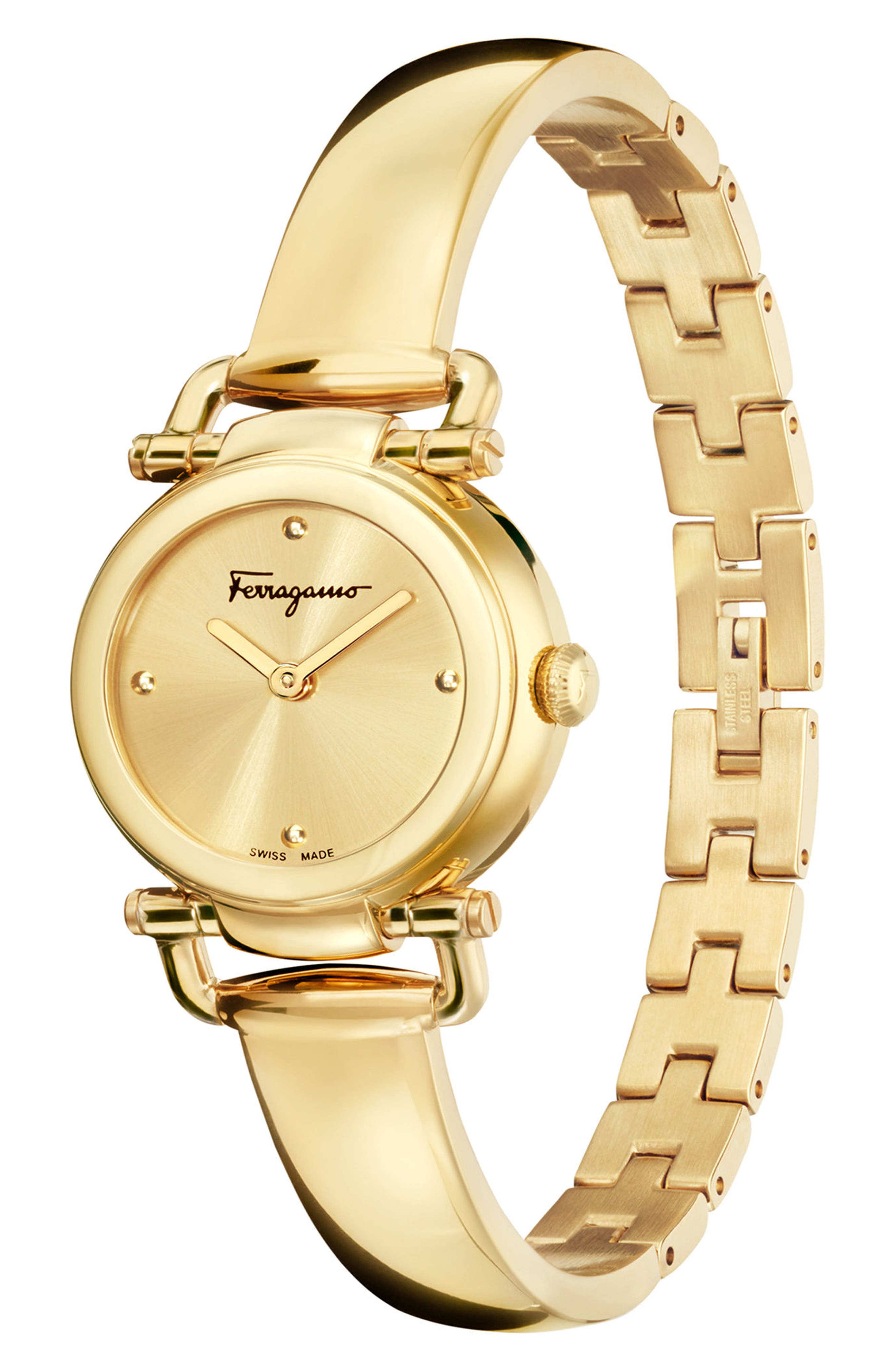 Gancino Casual Watch, 26mm,                             Alternate thumbnail 4, color,                             GOLD