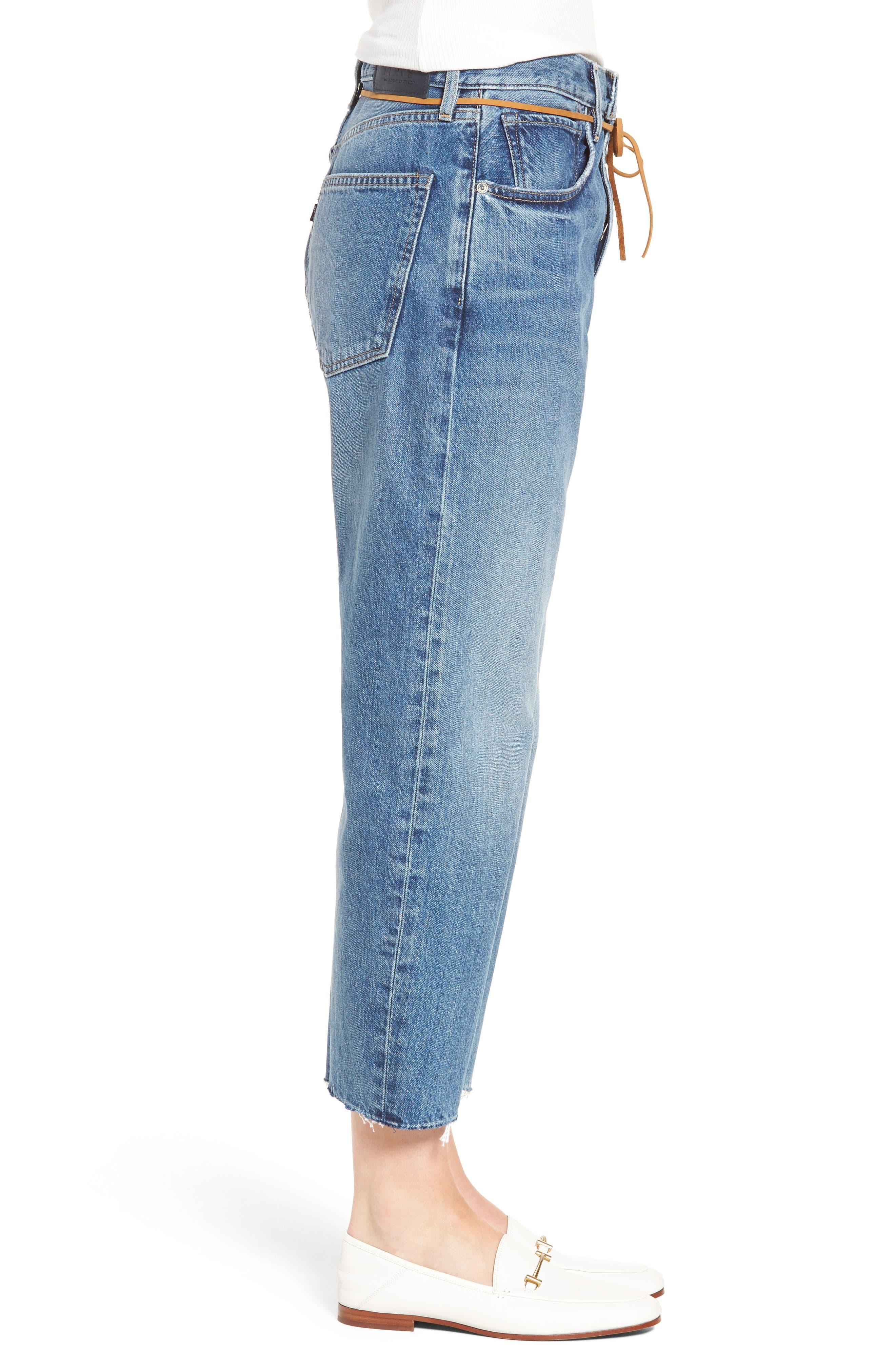 Barrel Jeans,                             Alternate thumbnail 3, color,                             420