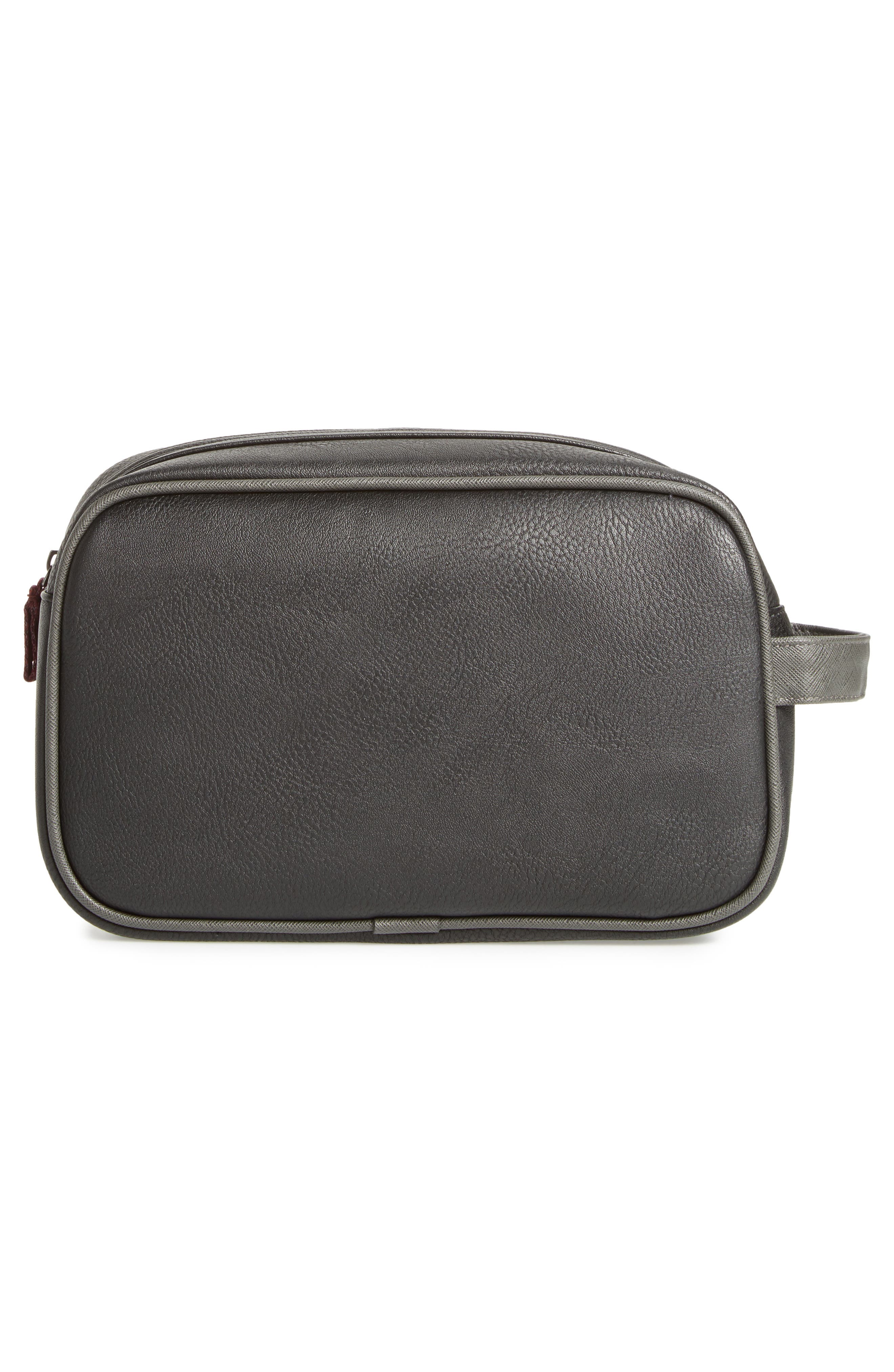 Pidgy Faux Leather Travel Kit,                             Alternate thumbnail 2, color,                             001