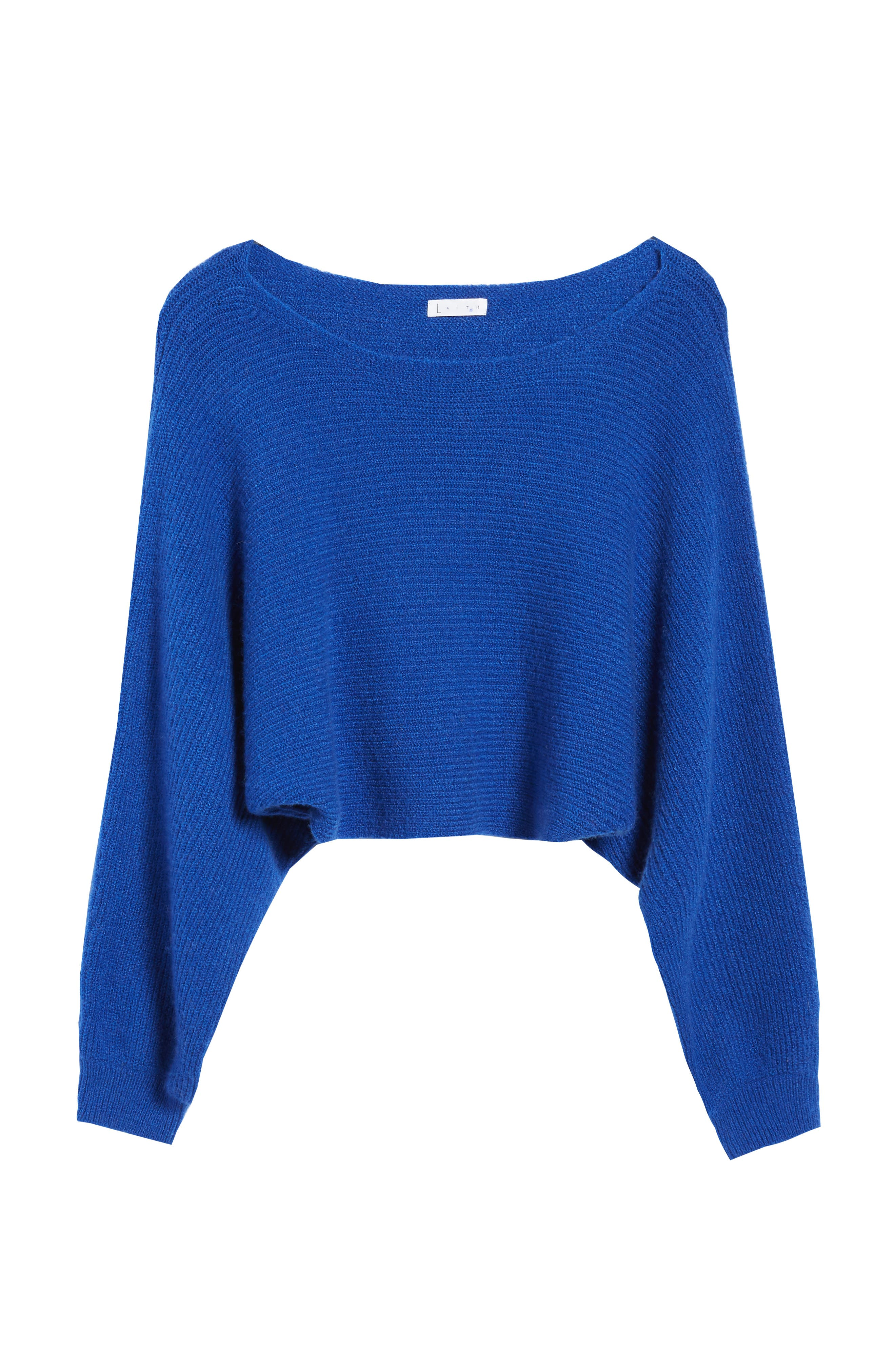 Crop Dolman Pullover,                             Alternate thumbnail 6, color,                             401