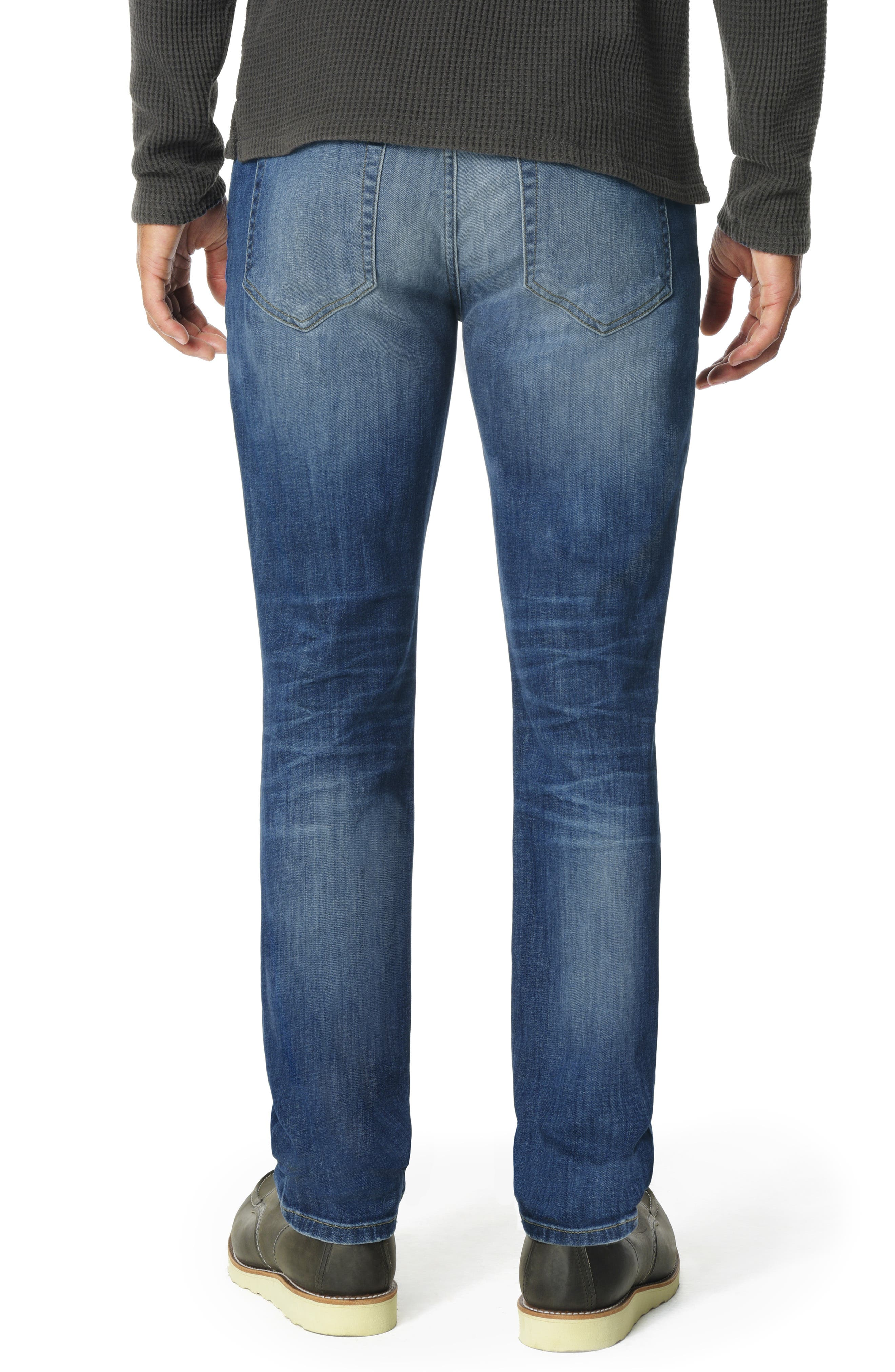 JOE'S,                             Brixton Slim Straight Leg Jeans,                             Alternate thumbnail 2, color,                             HOYT