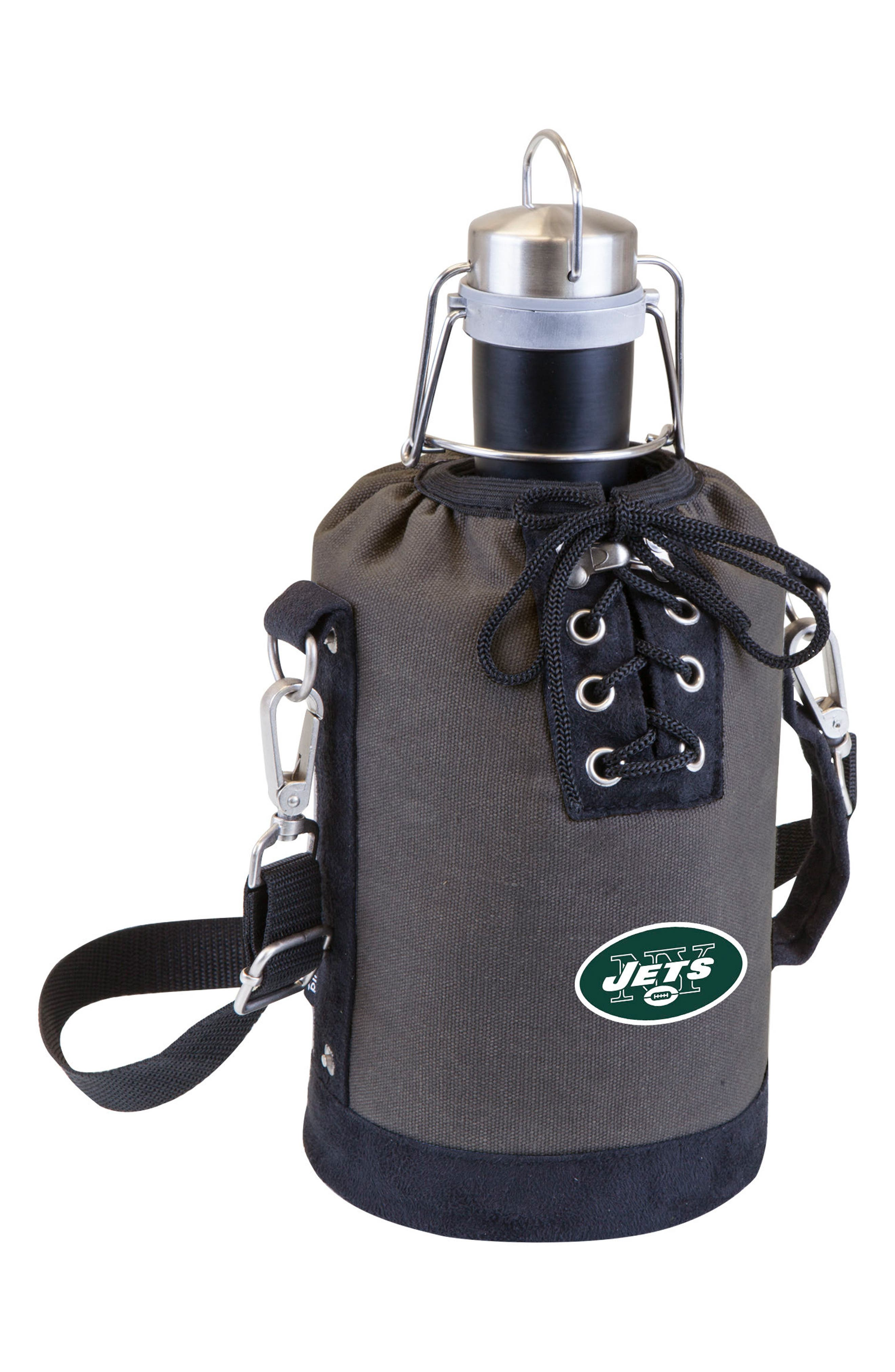 NFL Team Logo Tote & Stainless Steel Growler,                             Main thumbnail 22, color,