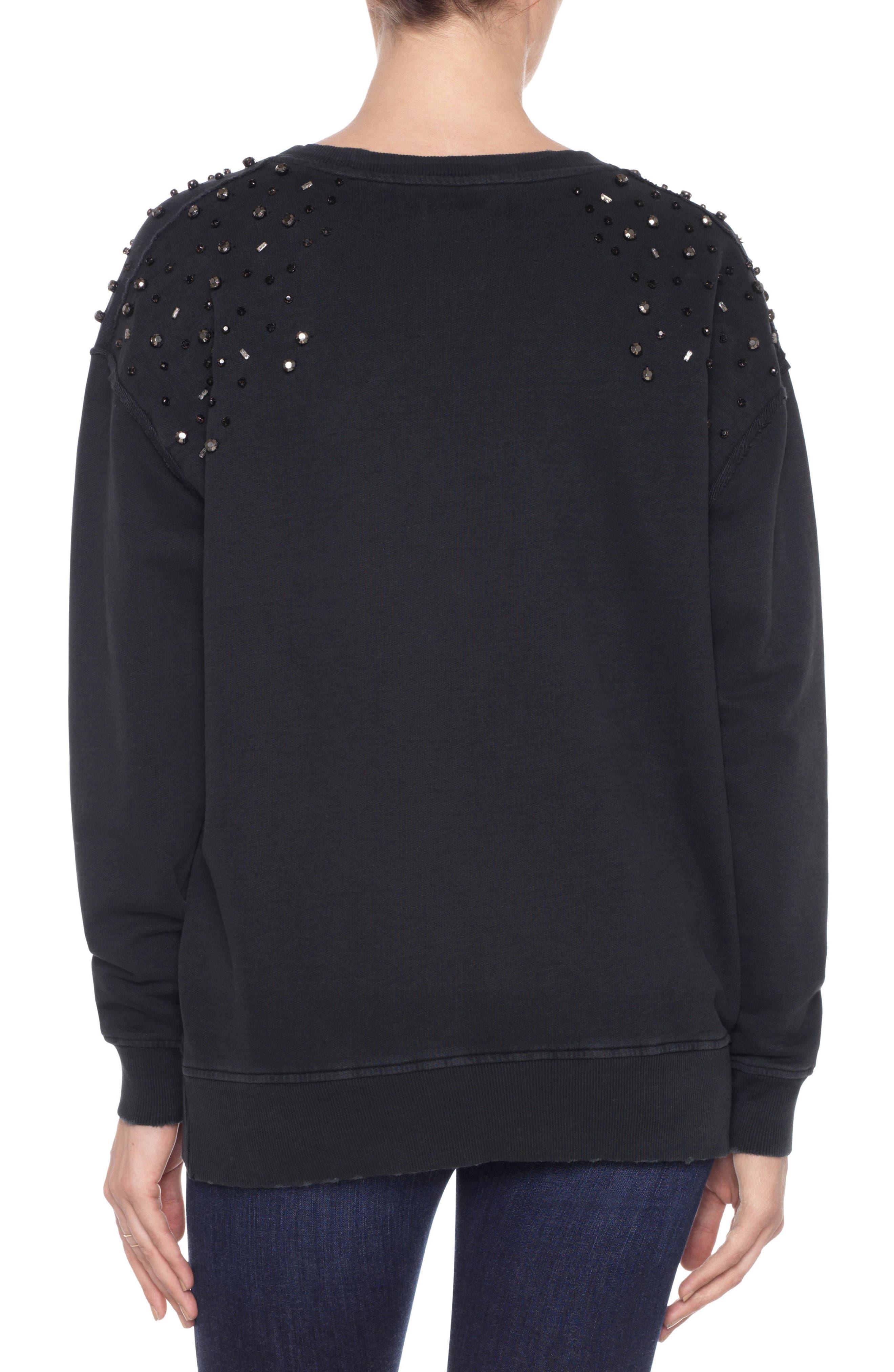 Crystal Sweatshirt,                             Alternate thumbnail 2, color,                             011