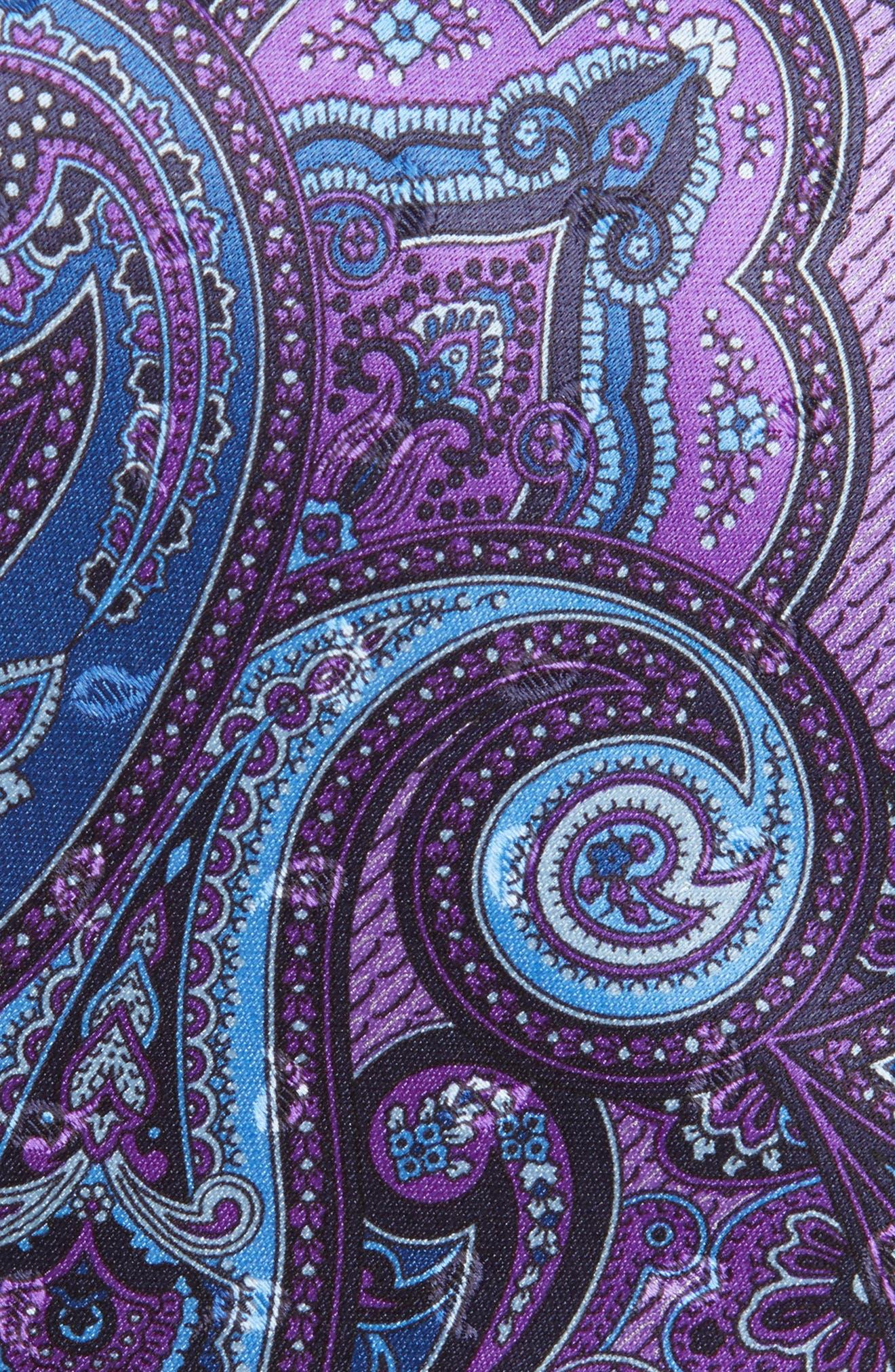 Paisley Silk Tie,                             Alternate thumbnail 2, color,                             518