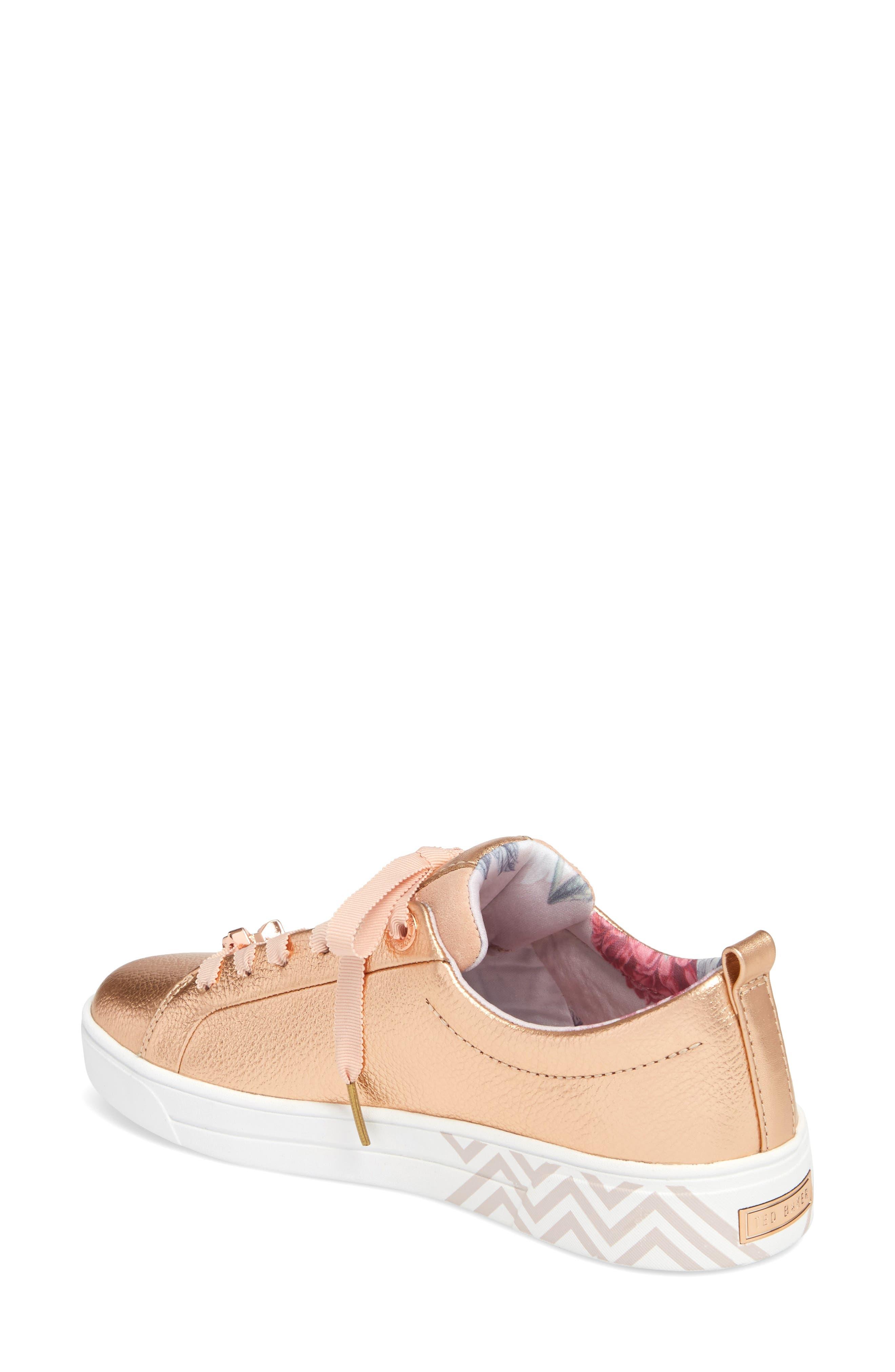 Kelleip Sneaker,                             Alternate thumbnail 2, color,                             ROSE GOLD/ PALACE GARDENS
