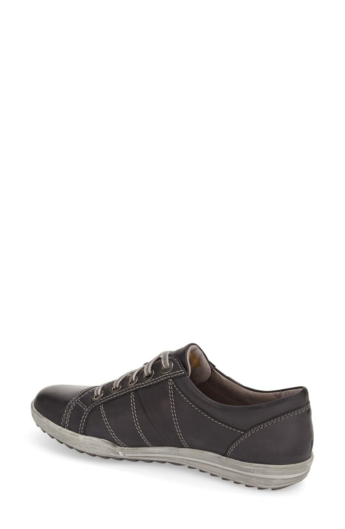 'Dany 05' Leather Sneaker,                             Alternate thumbnail 45, color,