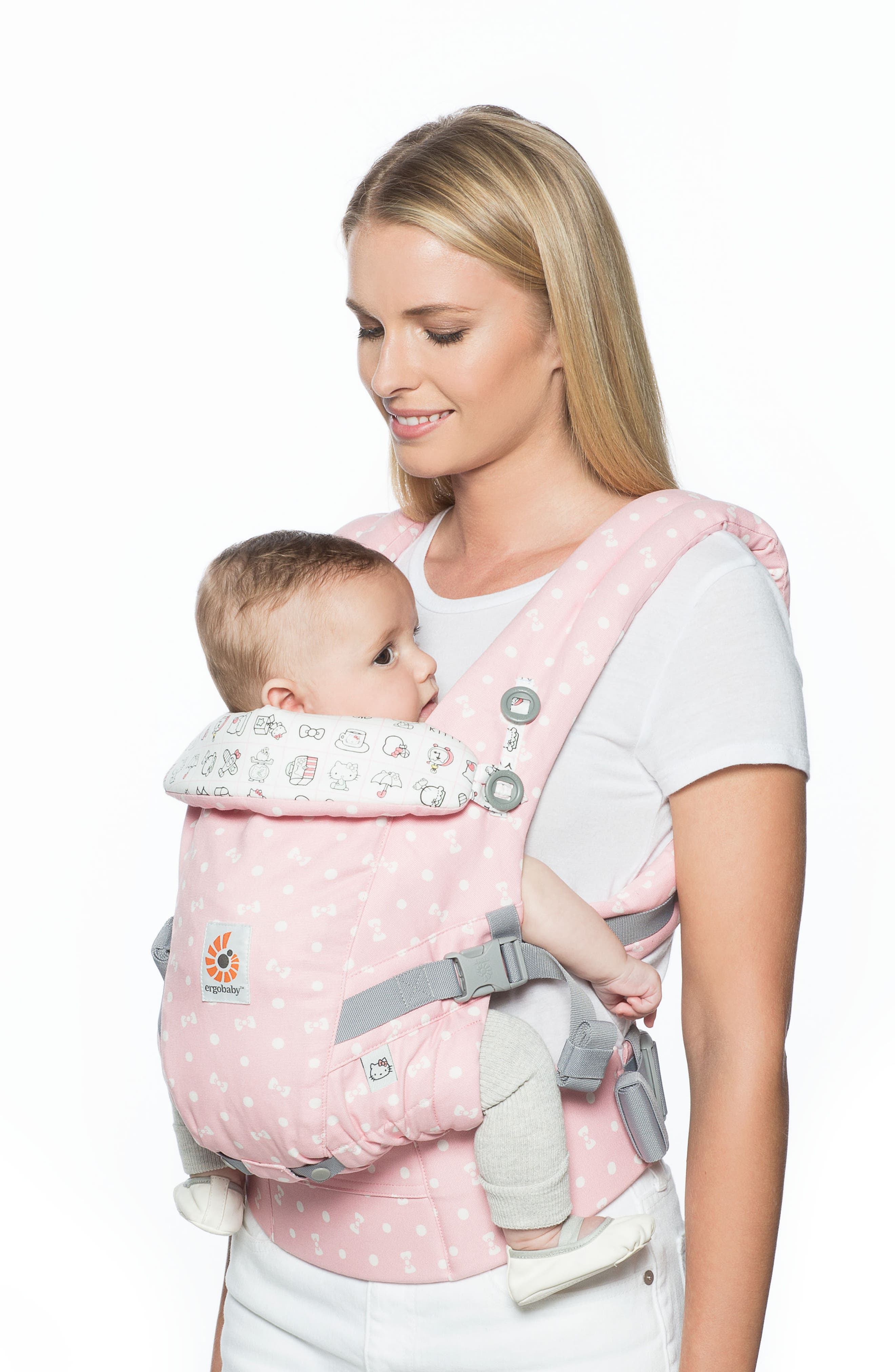 x Hello Kitty<sup>®</sup> Limited Edition Three Position ADAPT Baby Carrier,                             Alternate thumbnail 4, color,                             400
