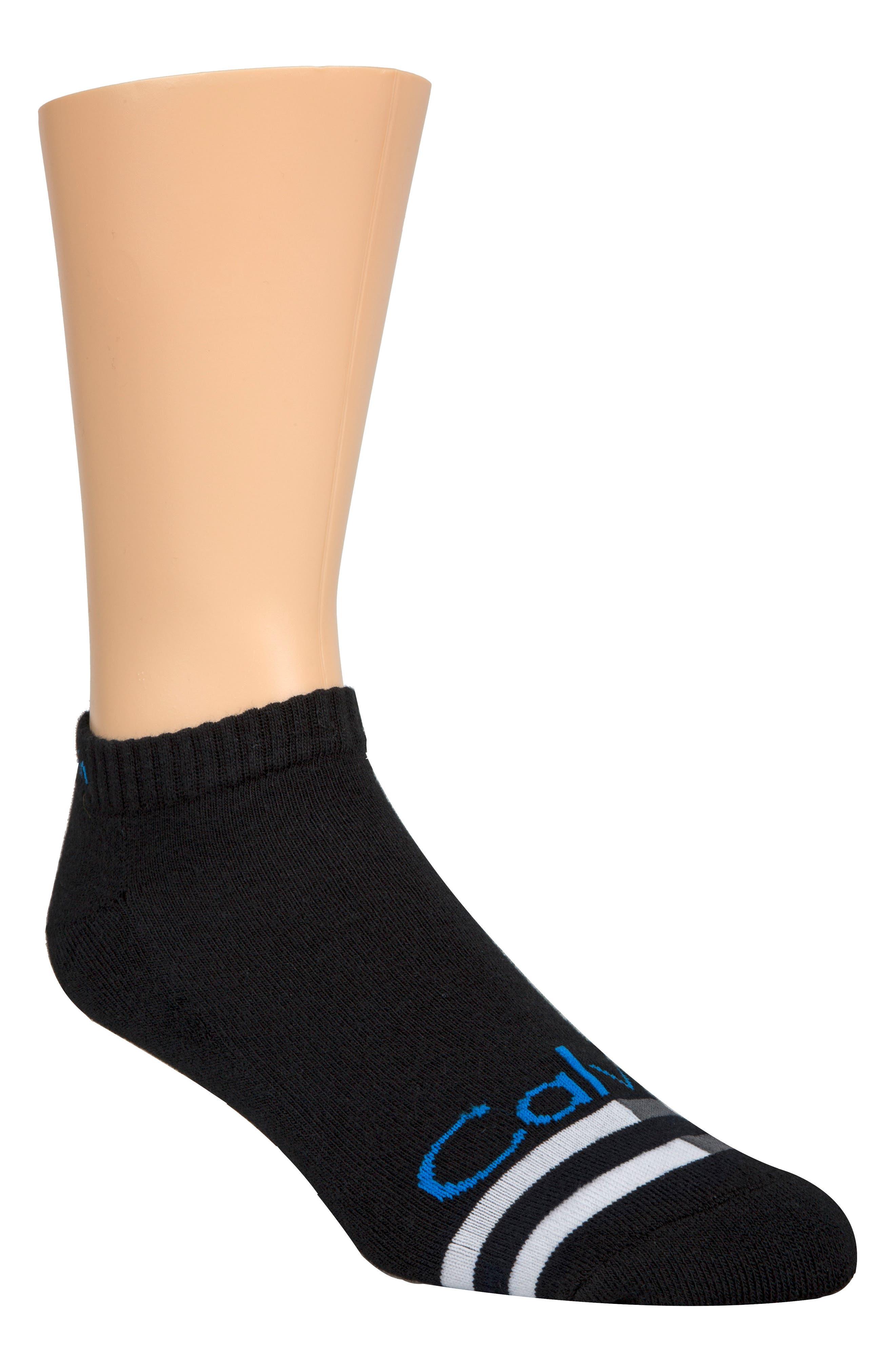 Logo Liner Socks,                         Main,                         color, 001