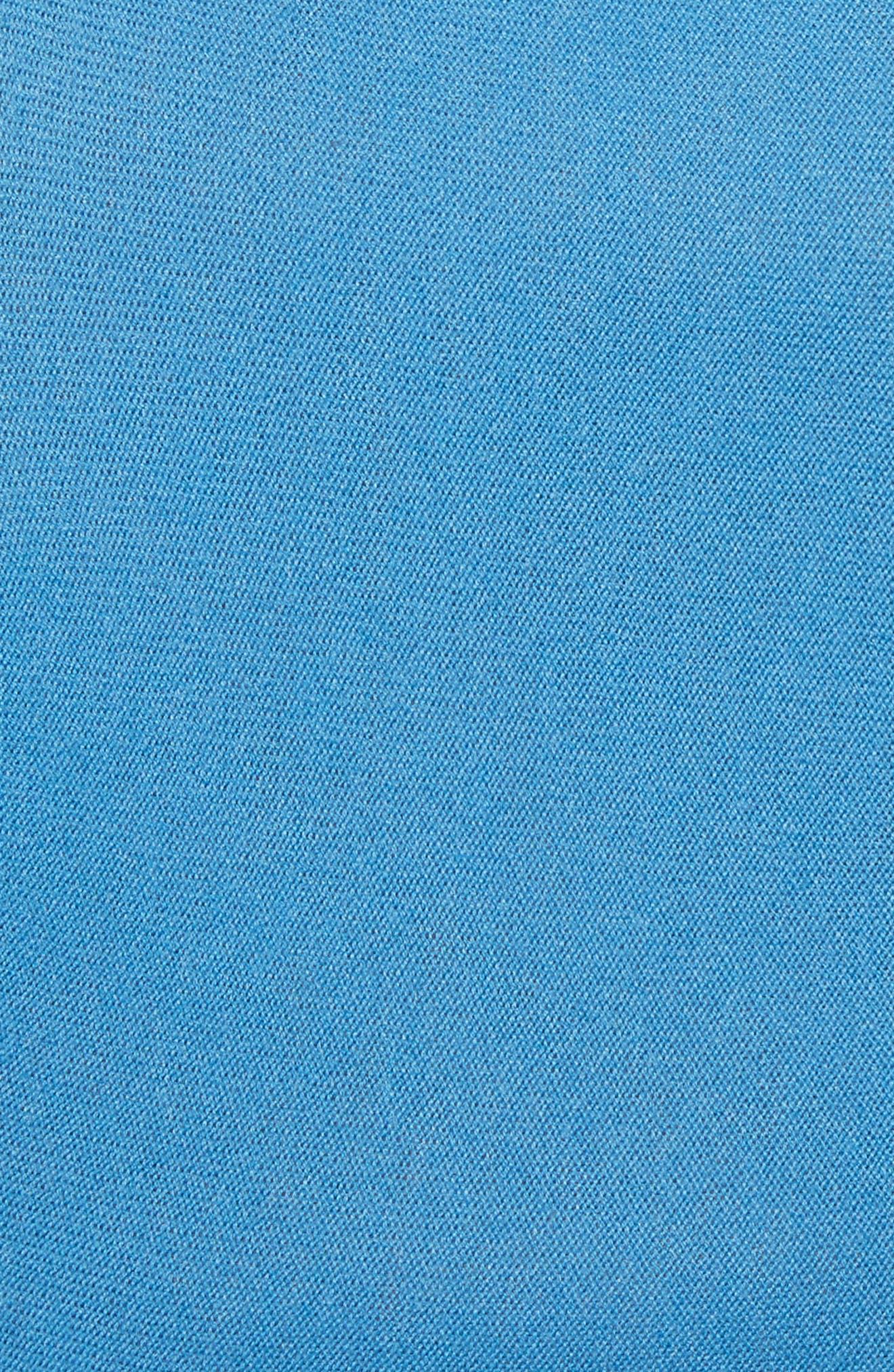 Flounced Turtleneck Sweater,                             Alternate thumbnail 5, color,                             487