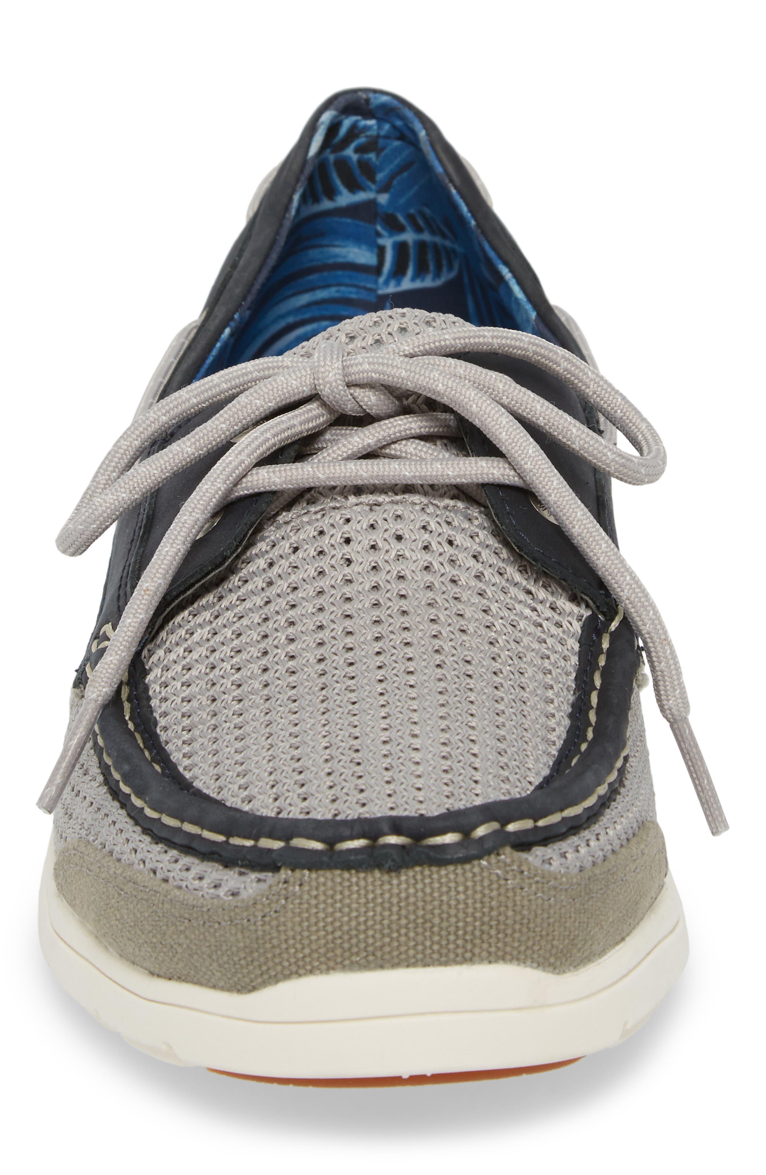 On Par Woven Boat Shoe,                             Alternate thumbnail 4, color,                             037