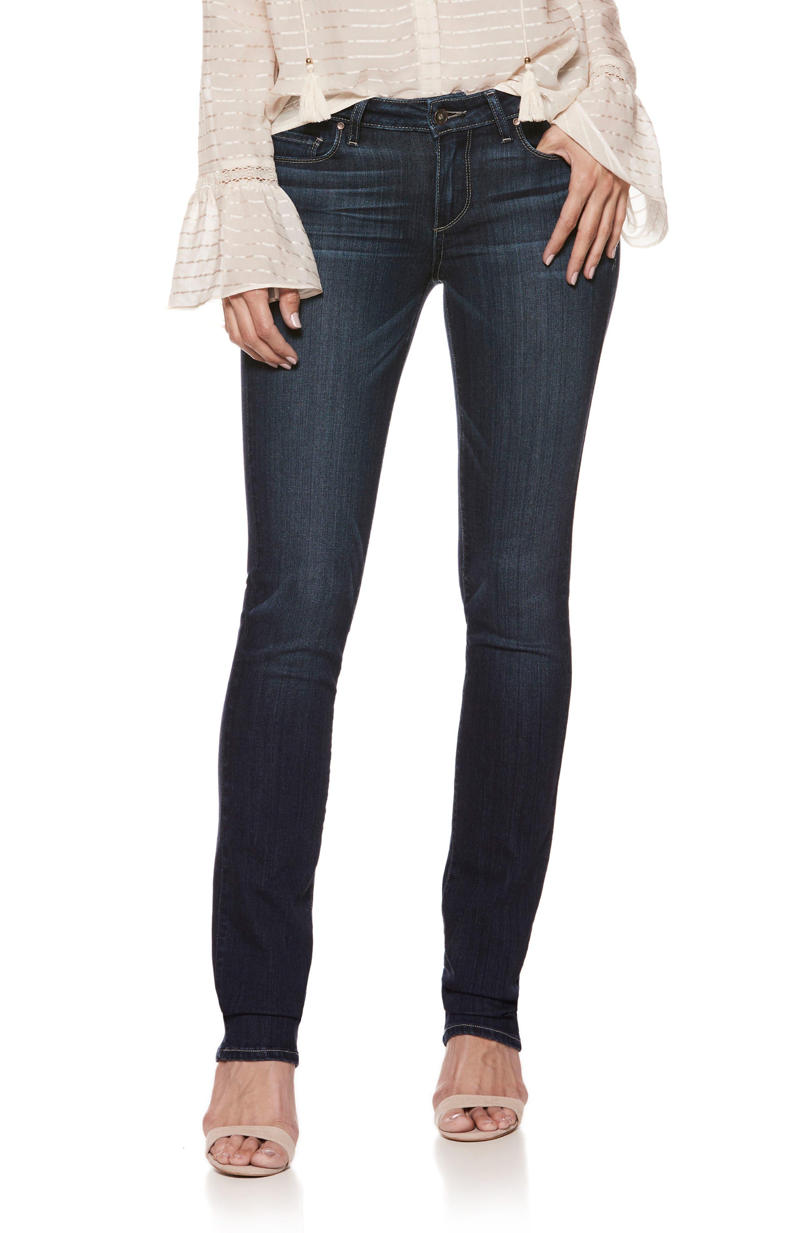 Transcend - Skyline Straight Leg Jeans,                         Main,                         color, LOTTIE