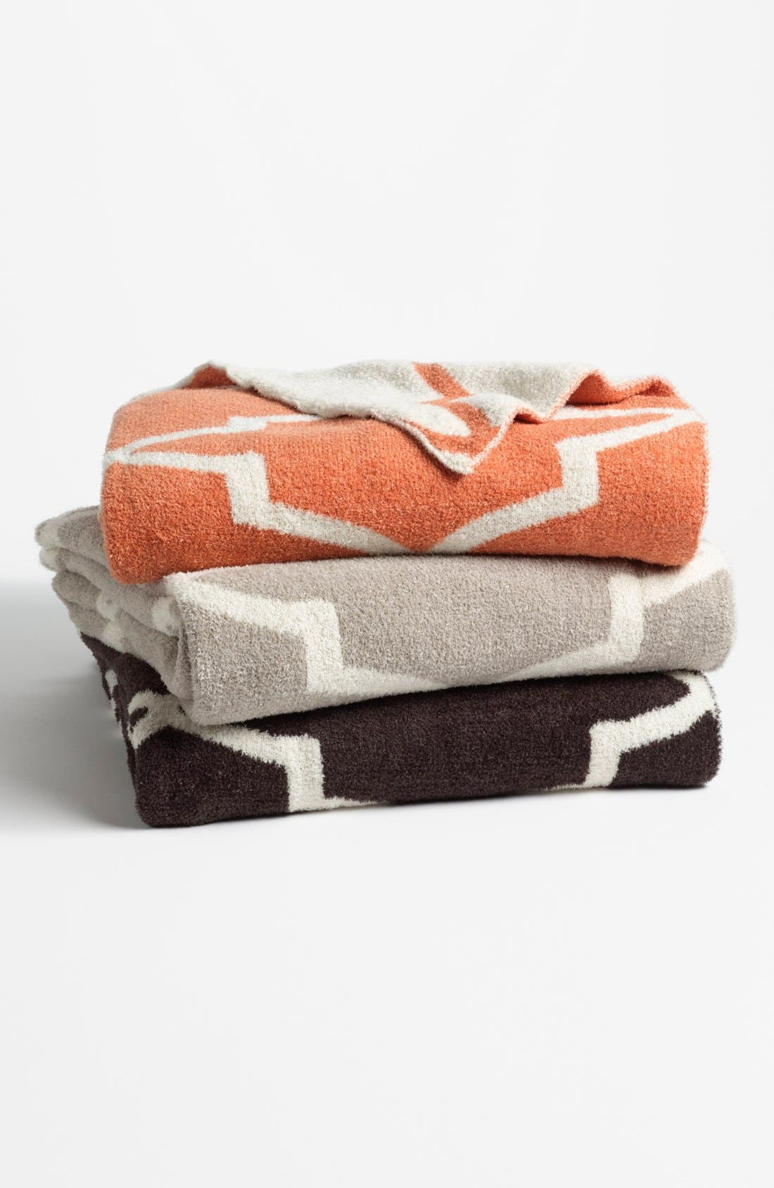 GIRAFFE AT HOME,                             'Moroccan Dolce' Throw,                             Alternate thumbnail 5, color,                             CHARCOAL/ SILVER
