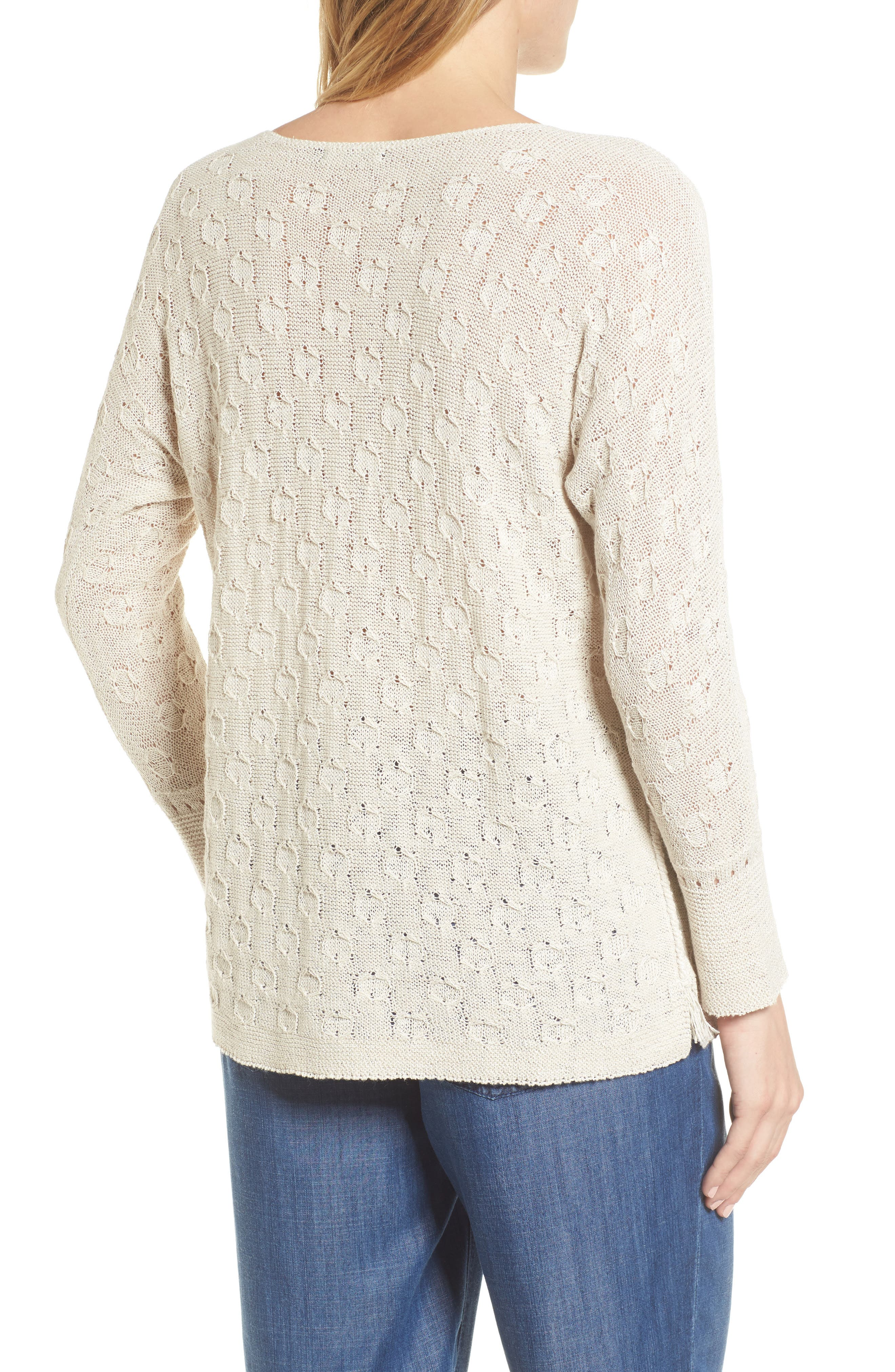 Stitched Dot Top,                             Alternate thumbnail 2, color,