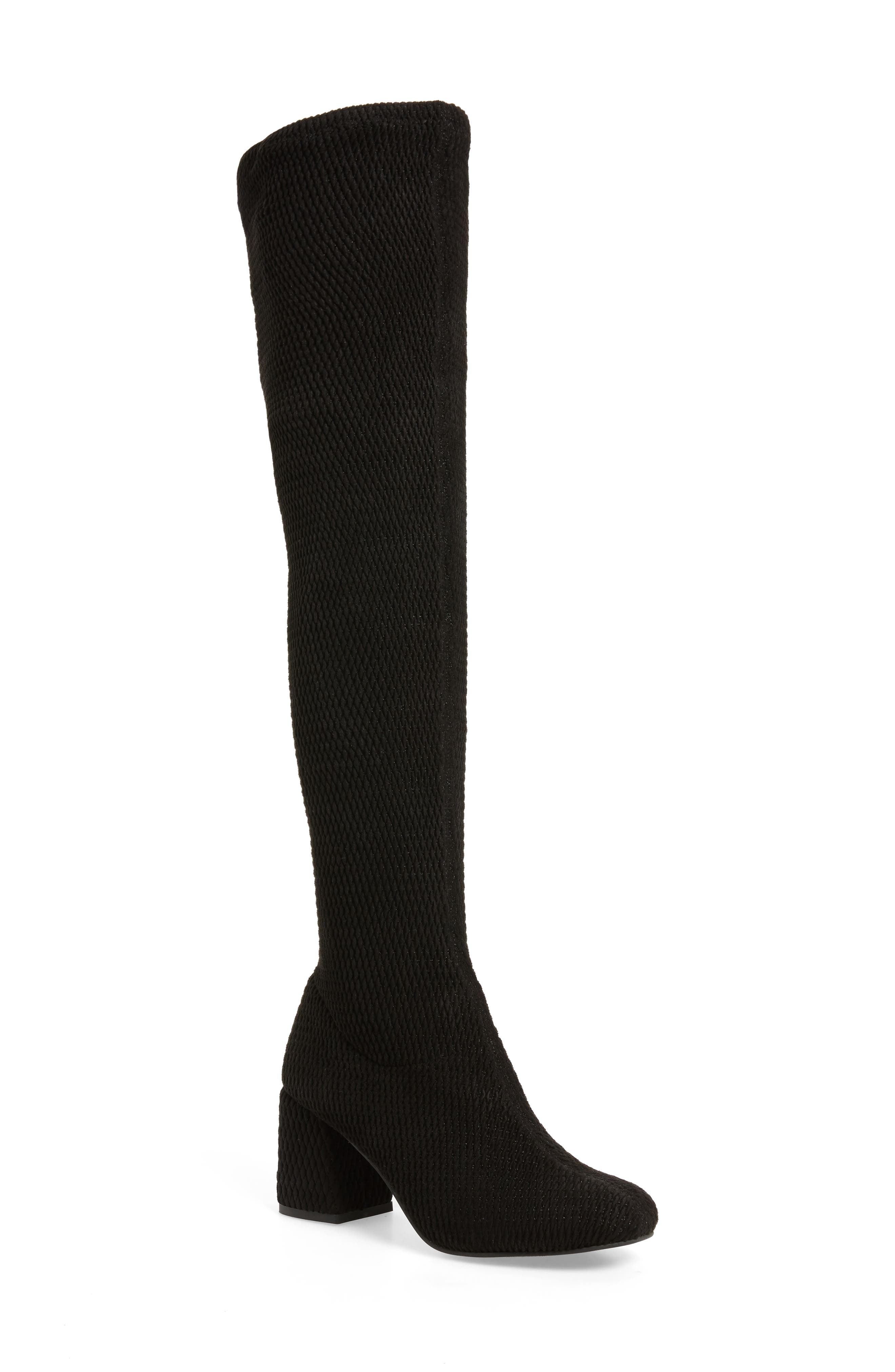 Act One Stretch Over the Knee Boot,                         Main,                         color, 001