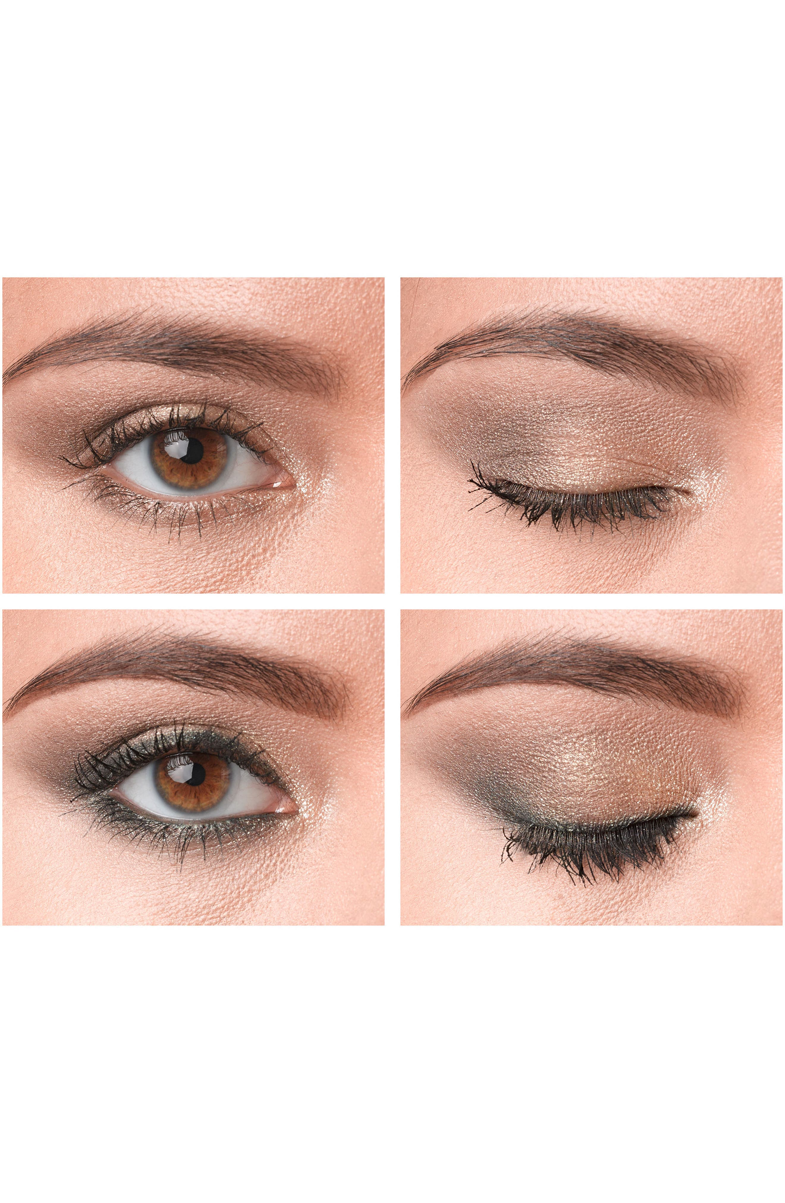 MAC Snow Ball Smoky Gold Eye Bag,                             Alternate thumbnail 5, color,                             000