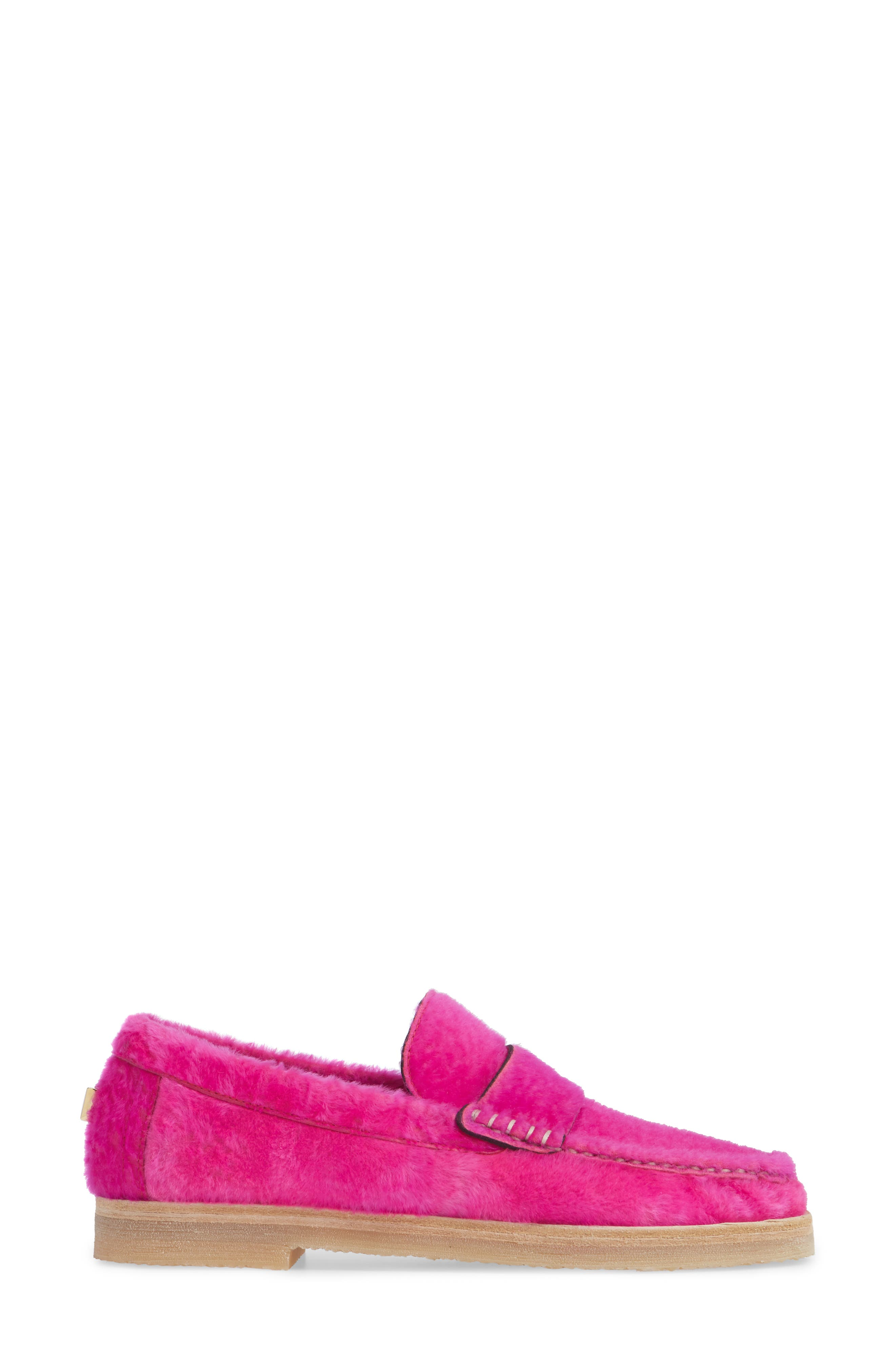 Bromley Genuine Shearling Loafer,                             Alternate thumbnail 10, color,