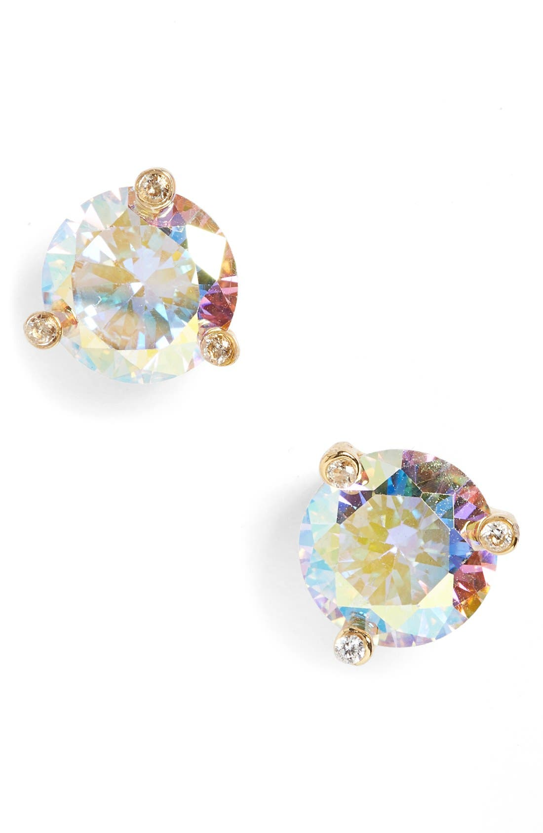 'rise and shine' stud earrings,                             Main thumbnail 1, color,                             ABALONE