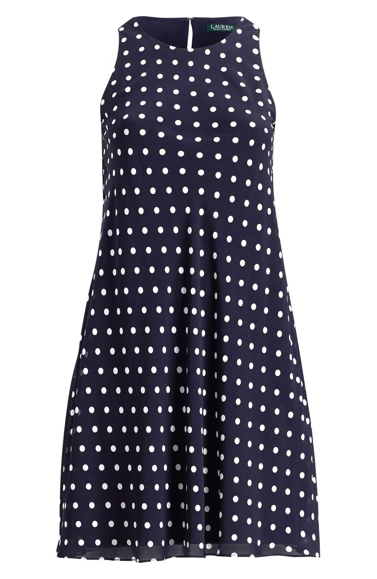 Polka Dot Dress,                             Alternate thumbnail 3, color,                             401