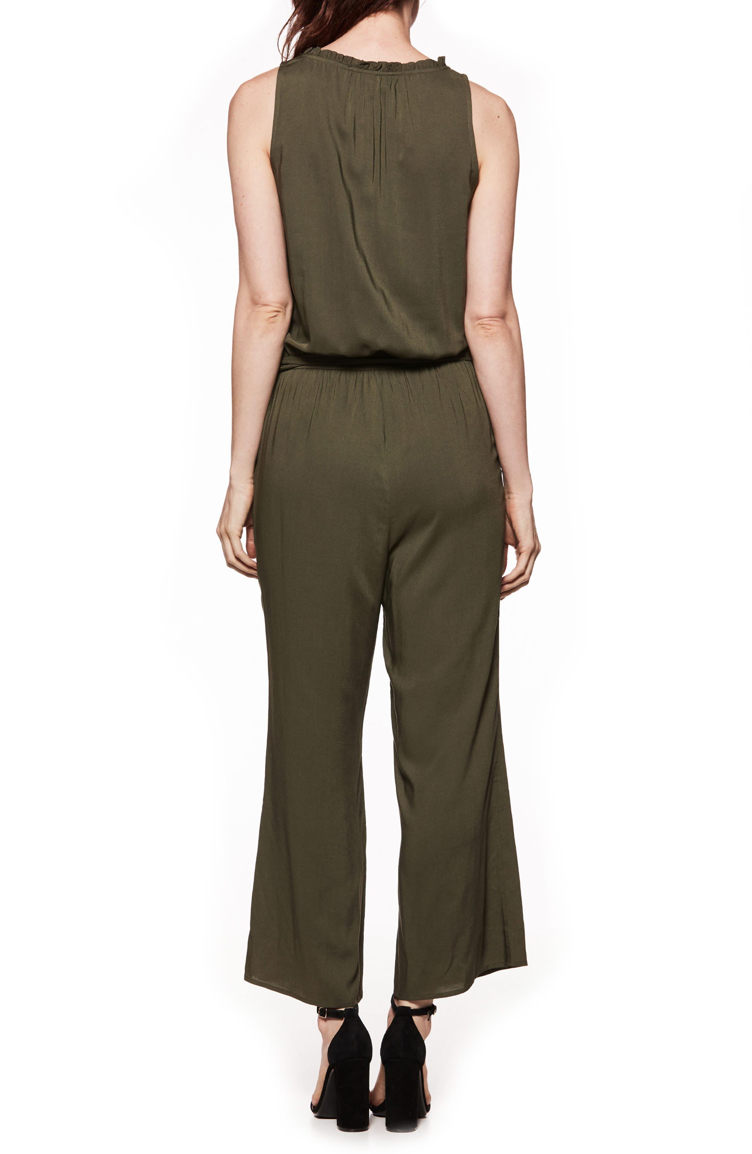 Paletta Tie-Waist Jumpsuit,                             Alternate thumbnail 2, color,