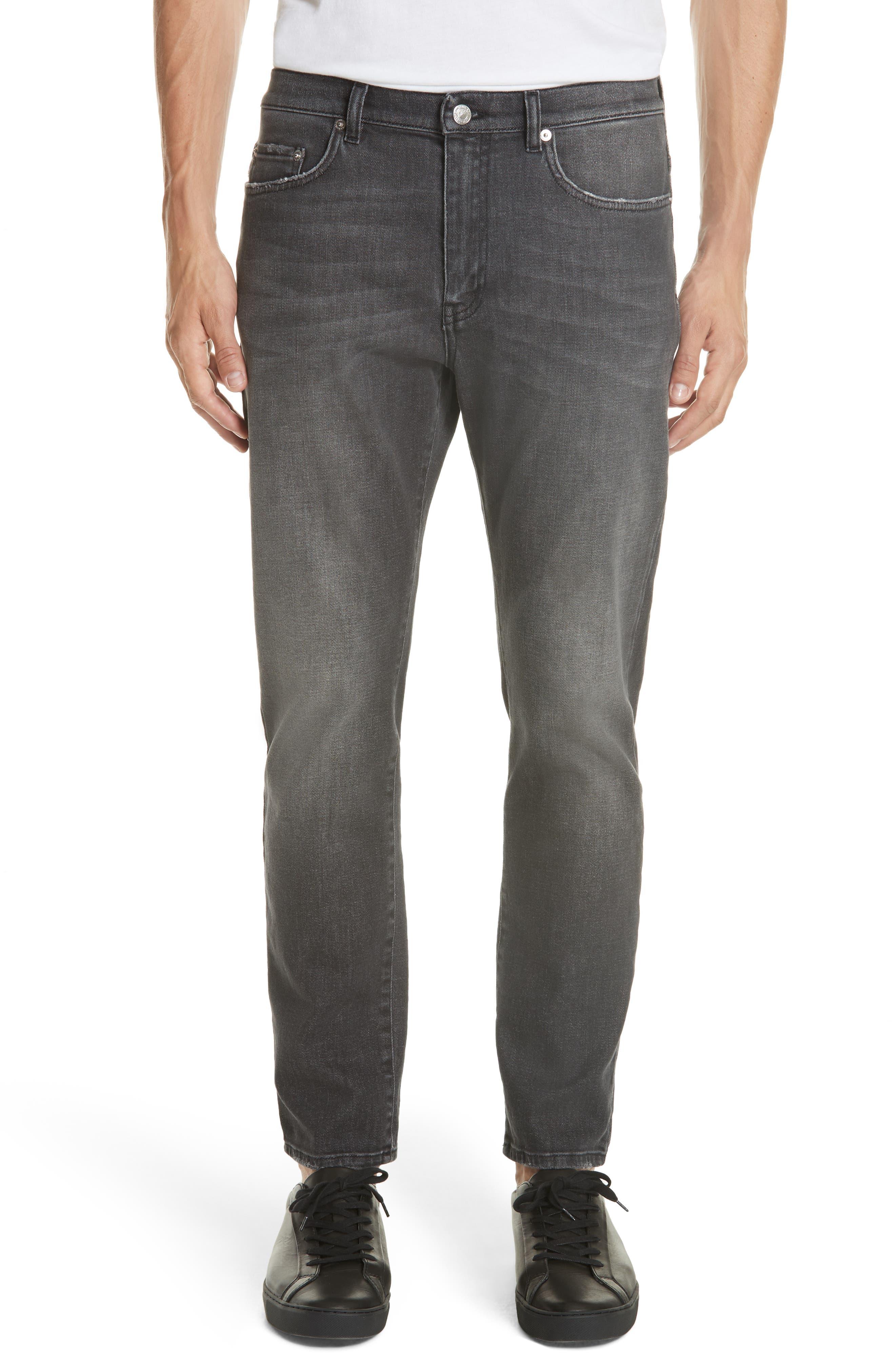 VERSACE COLLECTION Medusa Pocket Jeans, Main, color, 020