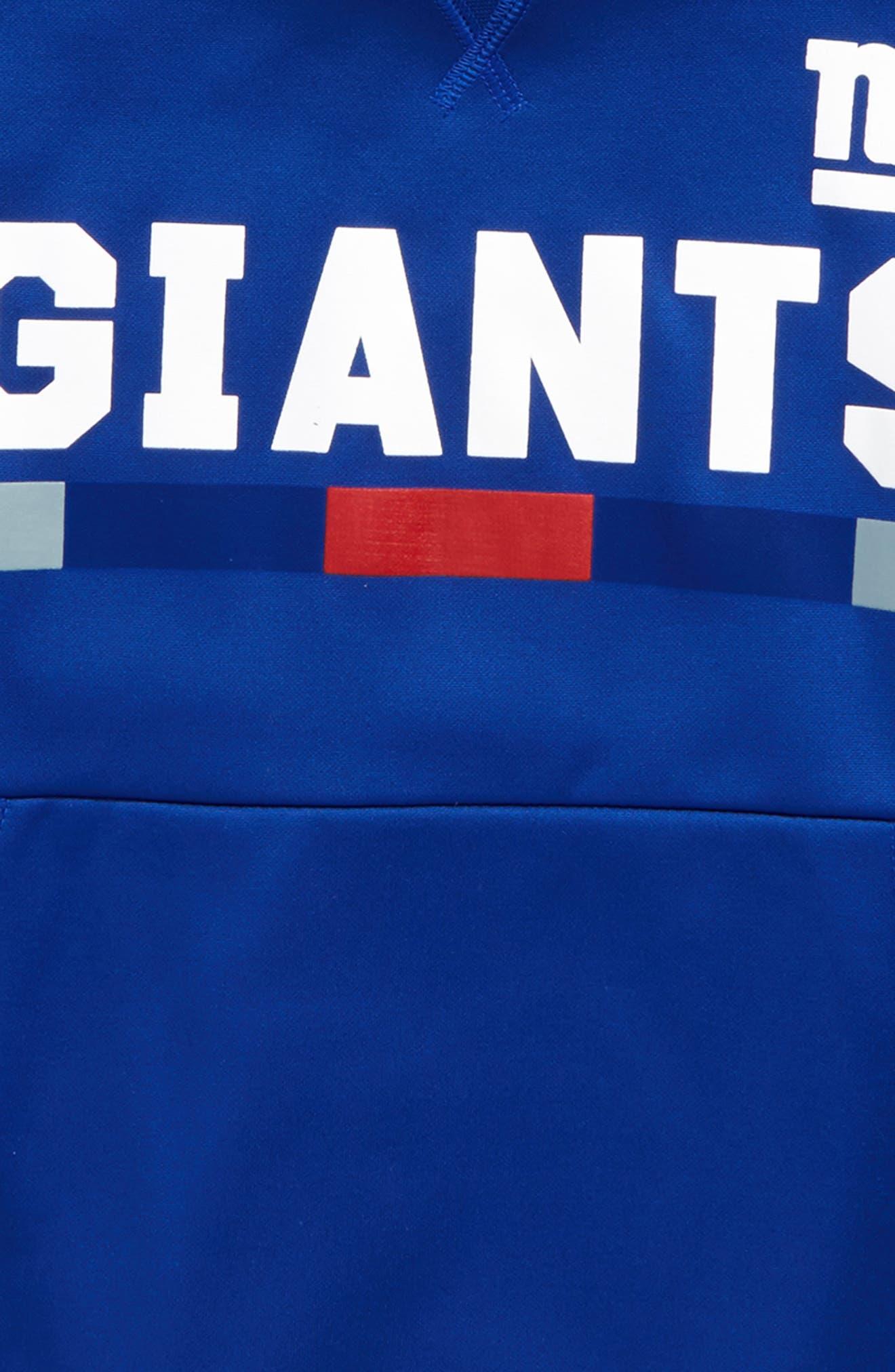 Nike Therma New York Giants Hoodie,                             Alternate thumbnail 2, color,                             425