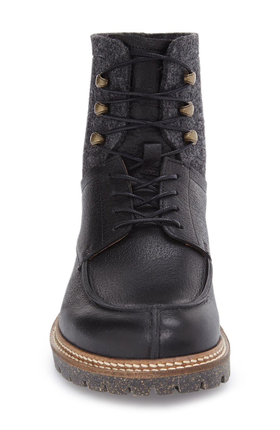 Timmins Split Toe Boot,                             Alternate thumbnail 3, color,                             001