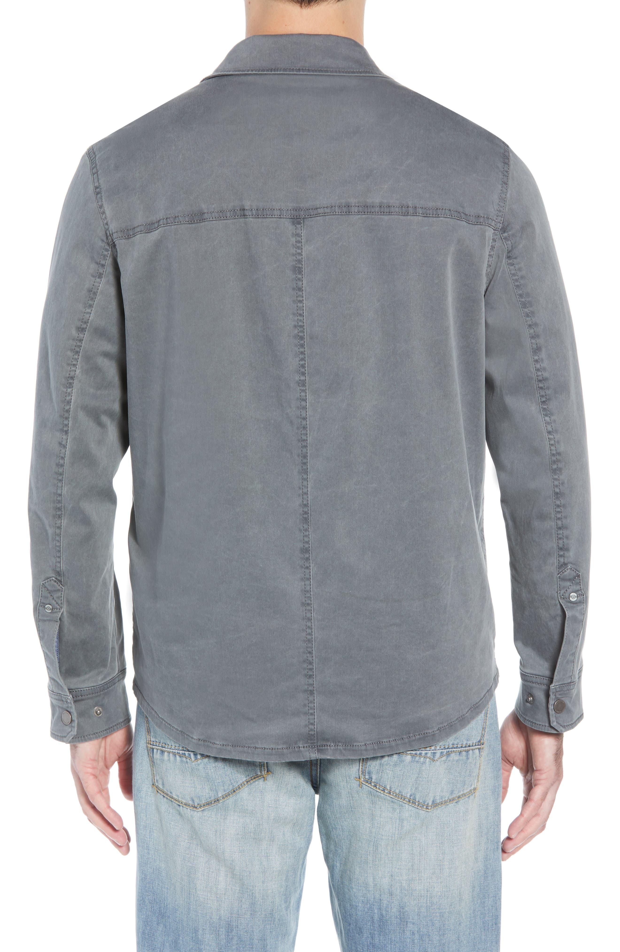 Boracay Regular Fit Shirt Jacket,                             Alternate thumbnail 2, color,                             FOG GREY