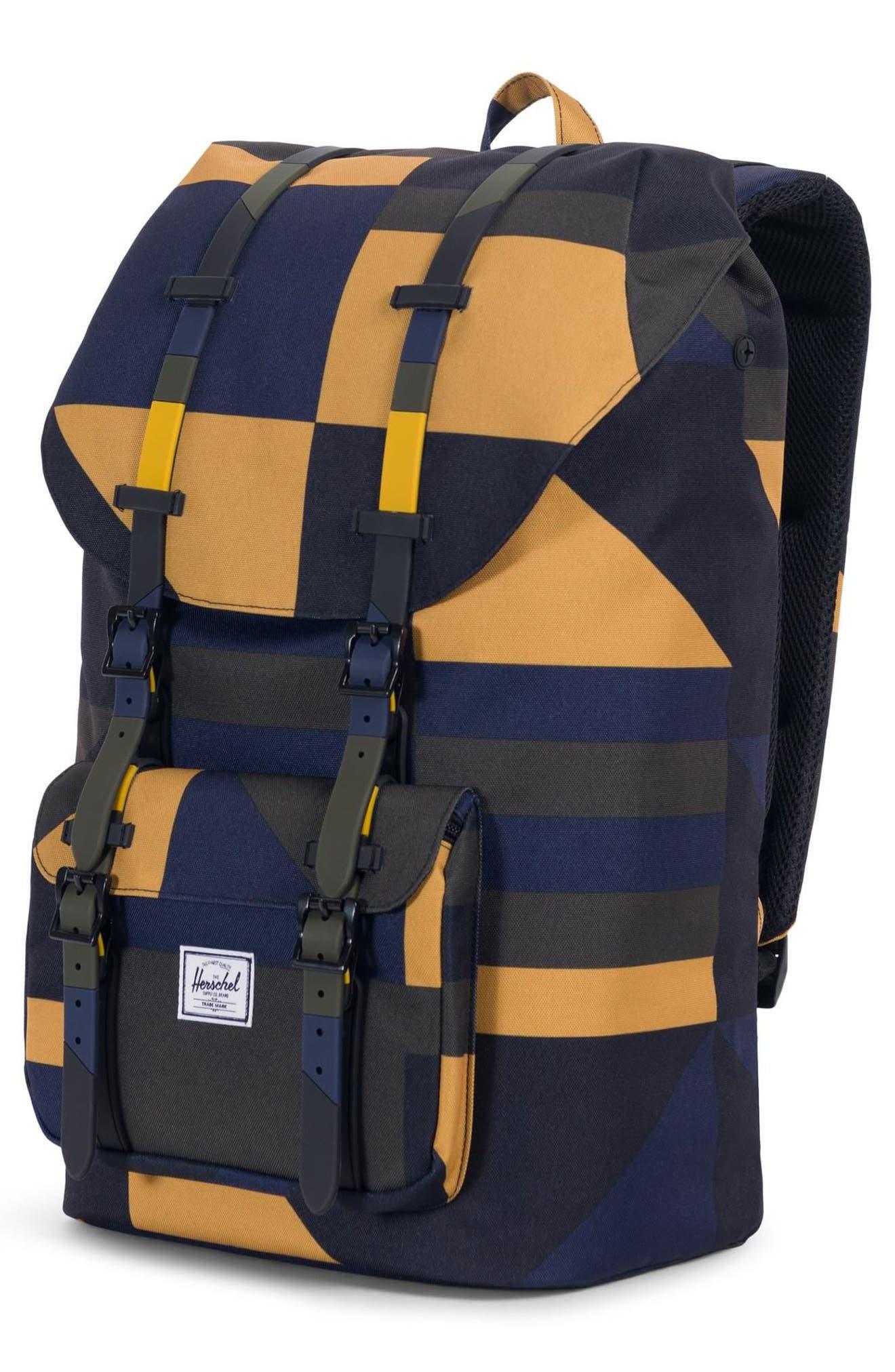 Little America Backpack,                             Alternate thumbnail 4, color,                             ARROW WOOD FRONTIER GEO