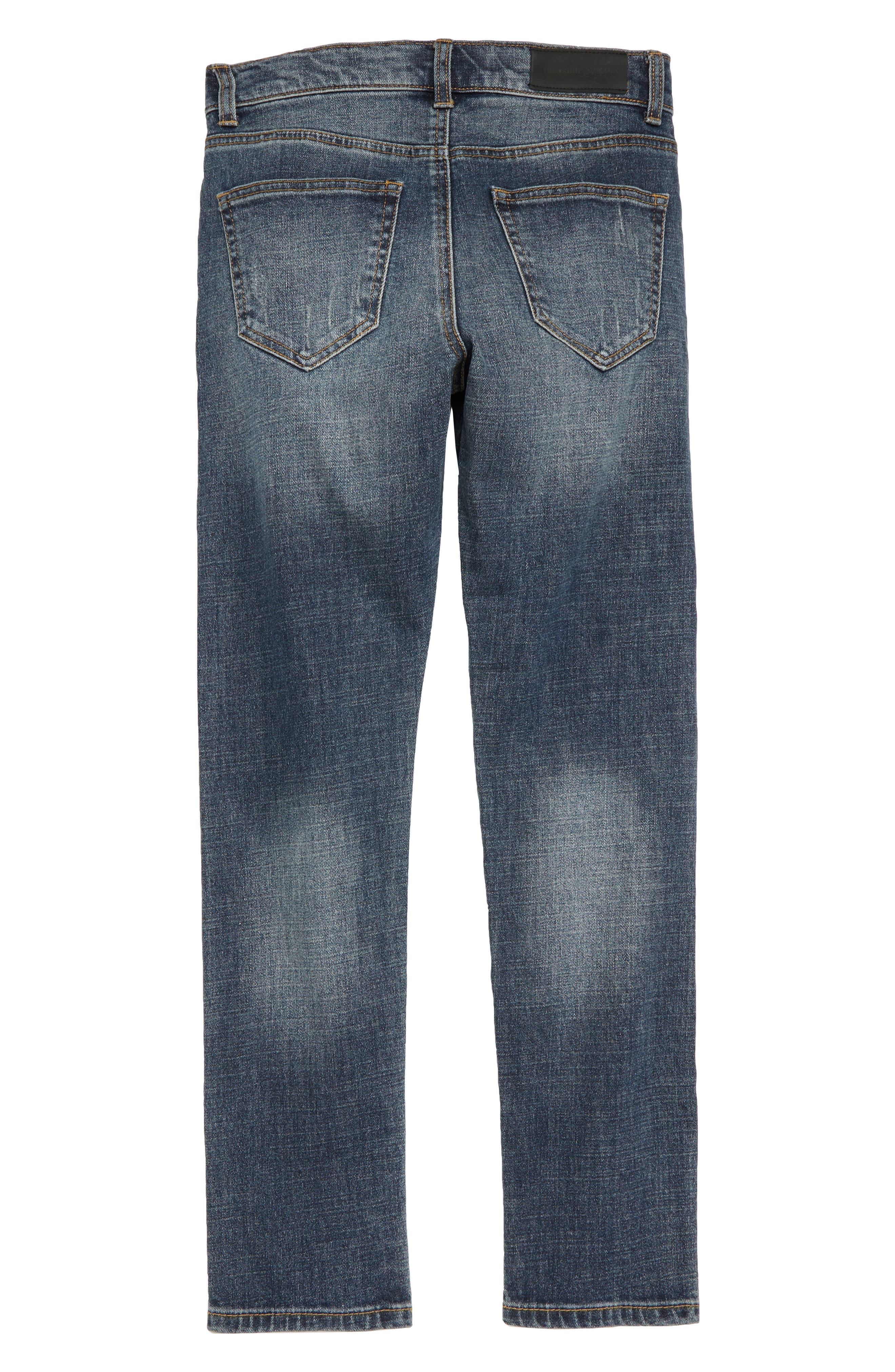 Slim Fit Jeans,                             Alternate thumbnail 2, color,                             401