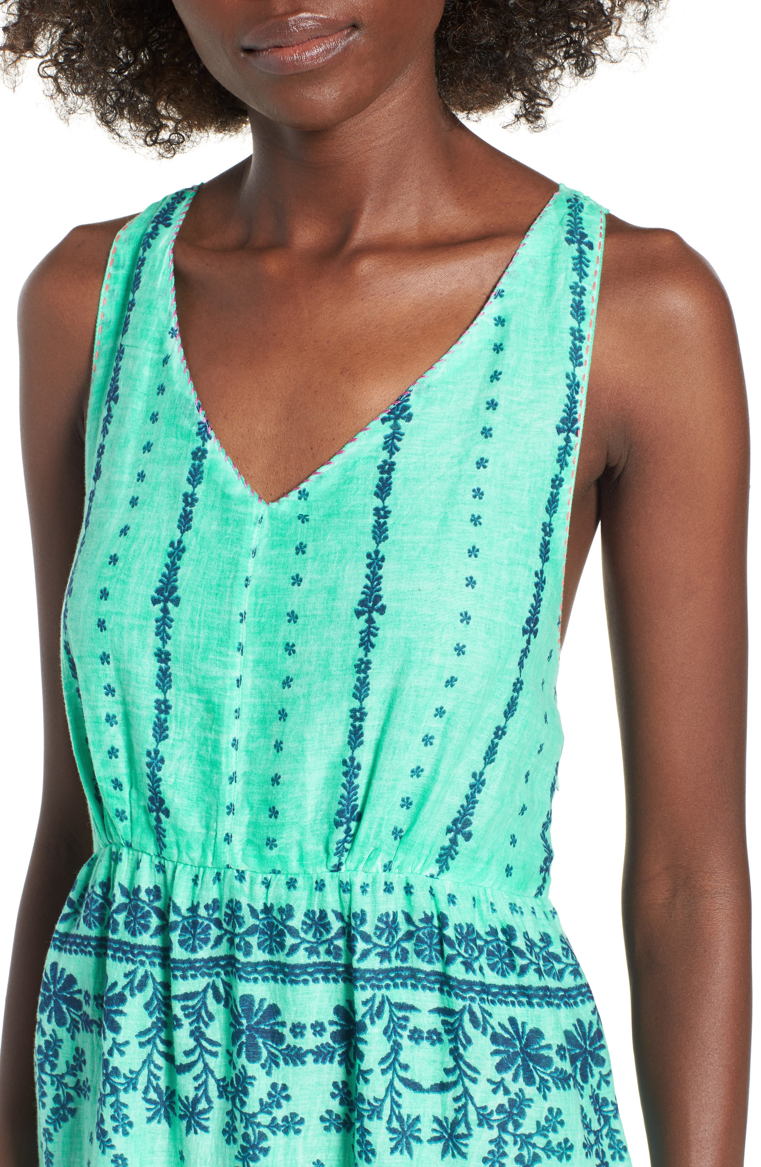 La Playita Maxi Dress,                             Alternate thumbnail 4, color,                             300
