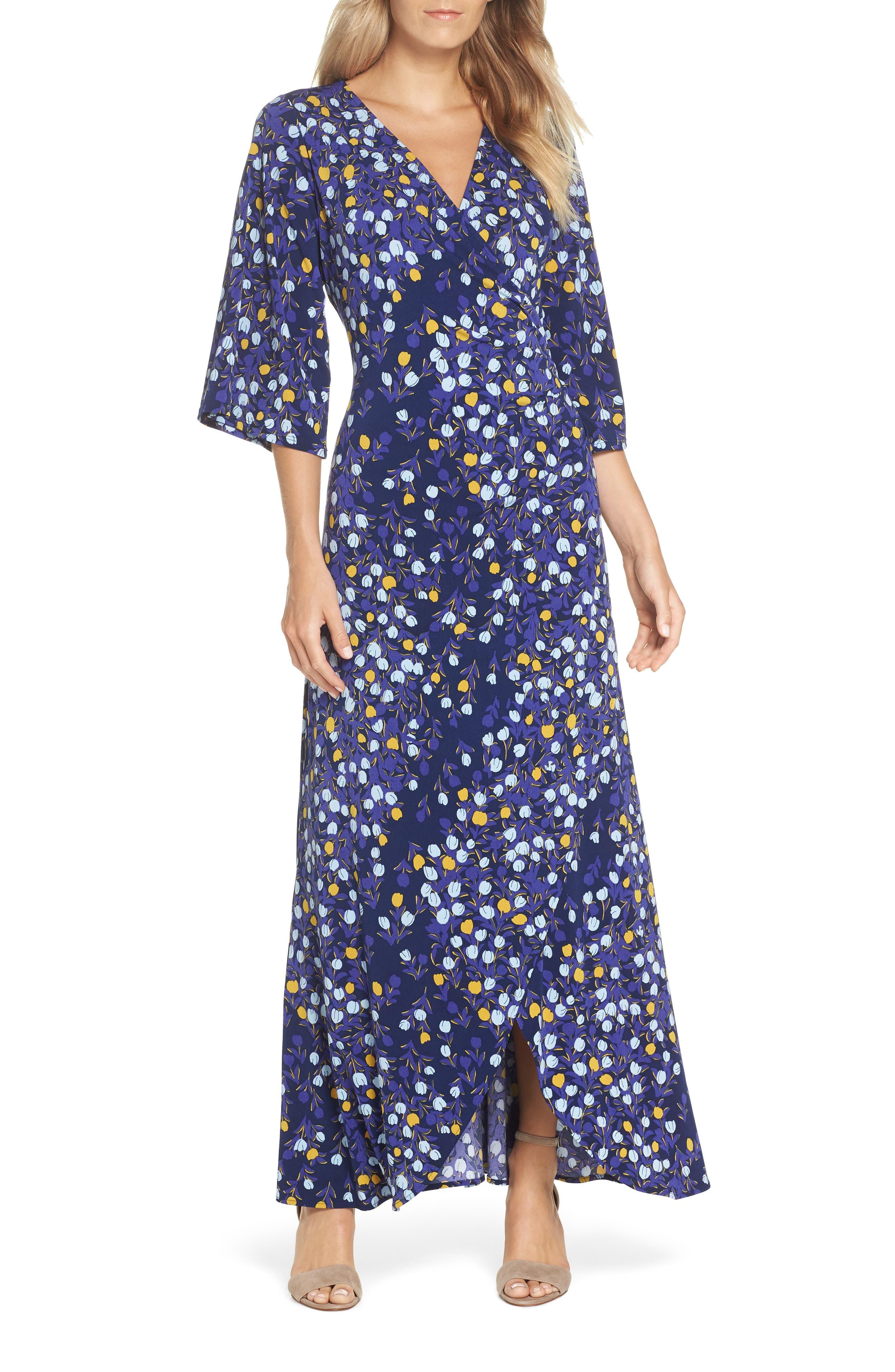 Leota Emma Maxi Dress, Blue