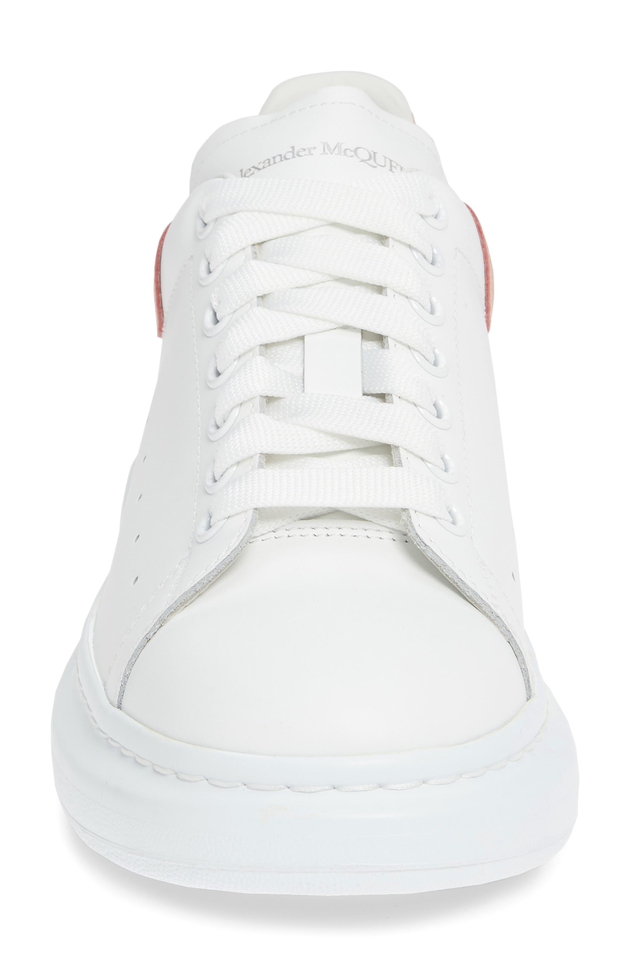 Oversized Runner Sneaker,                             Alternate thumbnail 4, color,                             186
