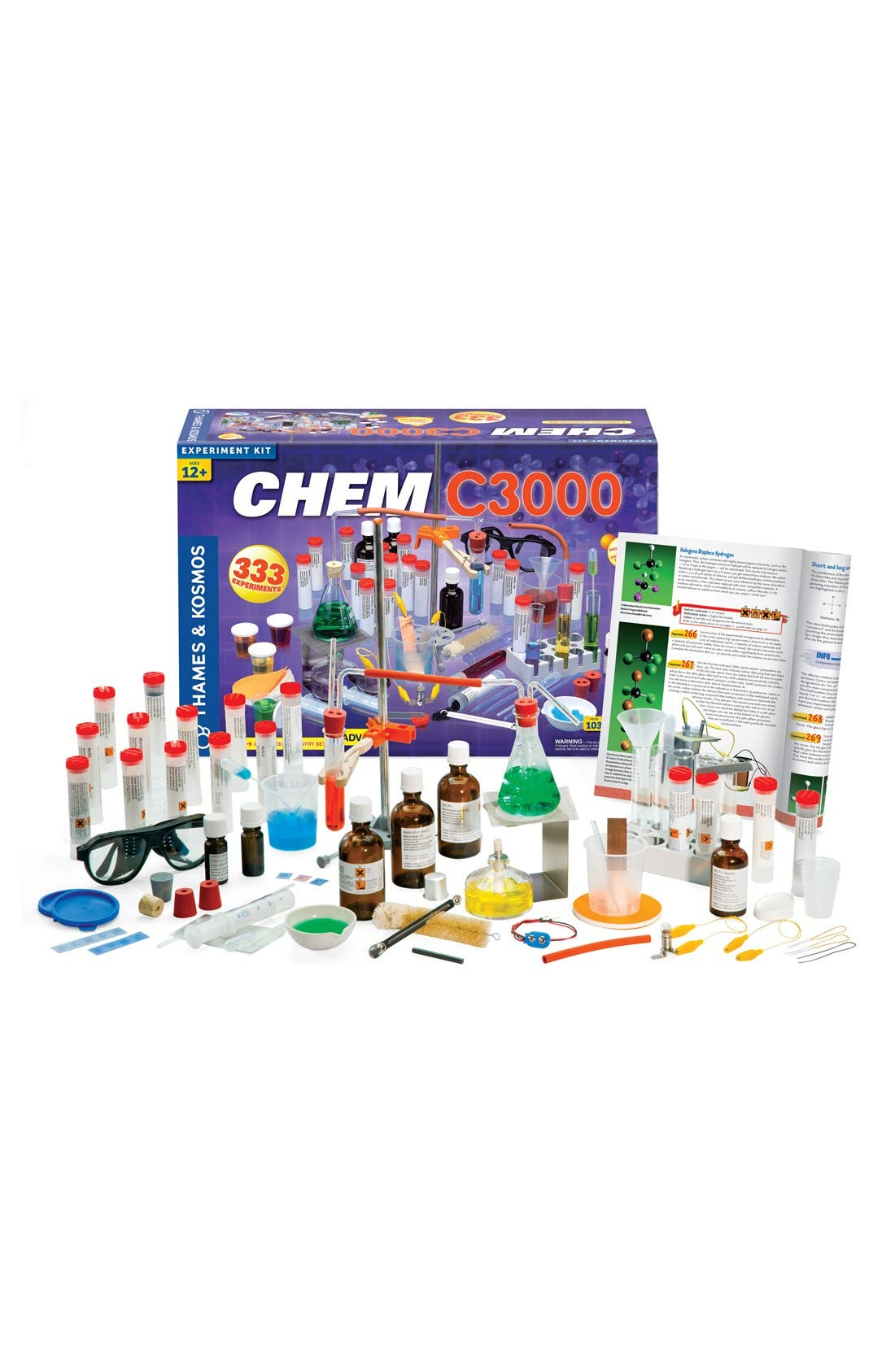 'CHEM C3000 (V 2.0)' Experiment Kit,                             Main thumbnail 1, color,                             NO COLOR