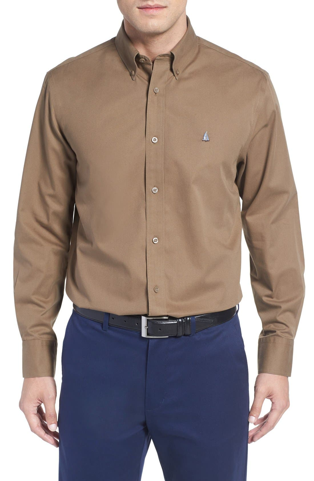 Smartcare<sup>™</sup> Traditional Fit Twill Boat Shirt,                             Main thumbnail 13, color,