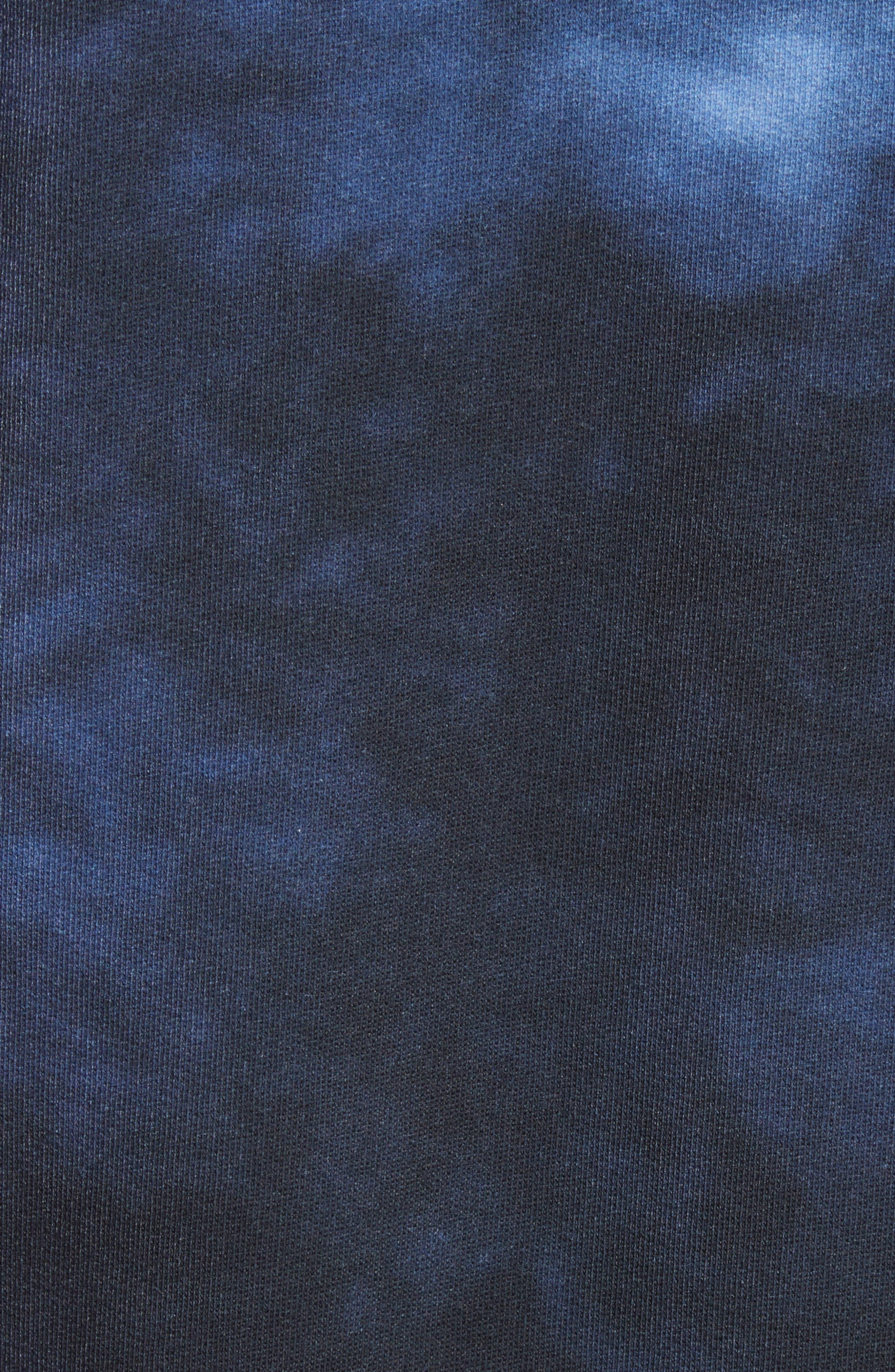 Fellke Bleach Indigo Sweatshirt,                             Alternate thumbnail 5, color,                             410