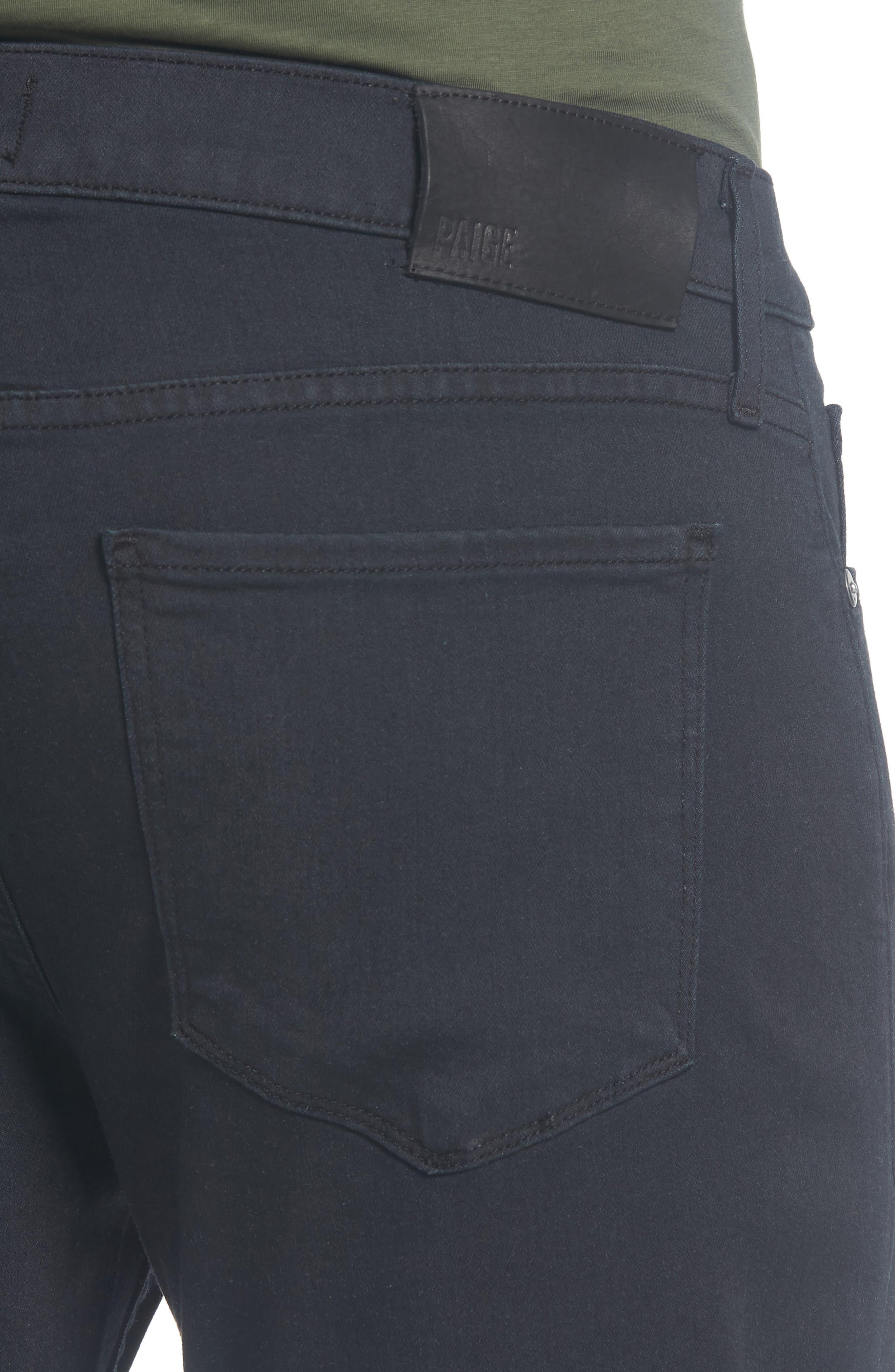 PAIGE,                             Normandie Straight Leg Jeans,                             Alternate thumbnail 4, color,                             400